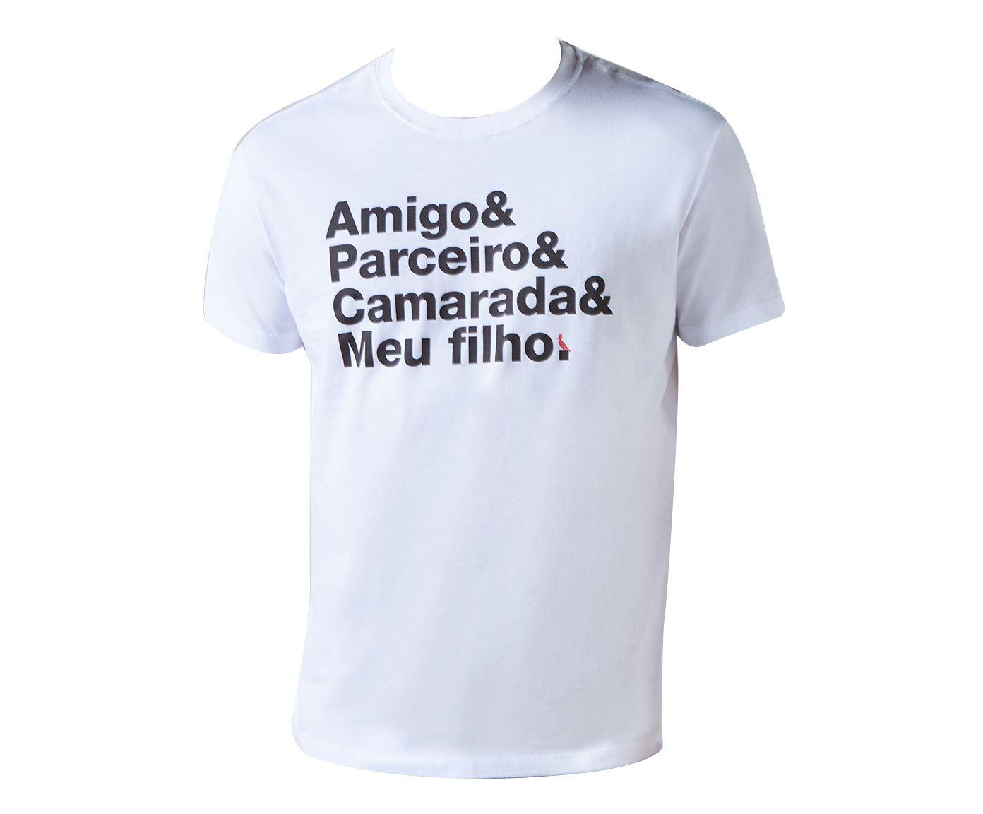 Camiseta Pai Camarada Branca - GGG | Westwing.com.br