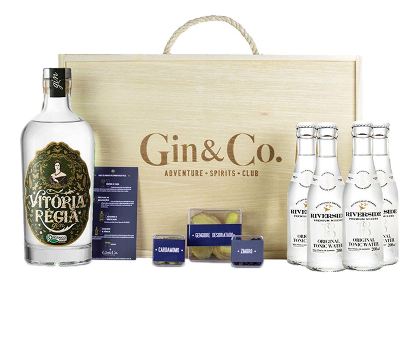 Jogo para Preparo de Gin Tônica Vitória Régia | Westwing.com.br