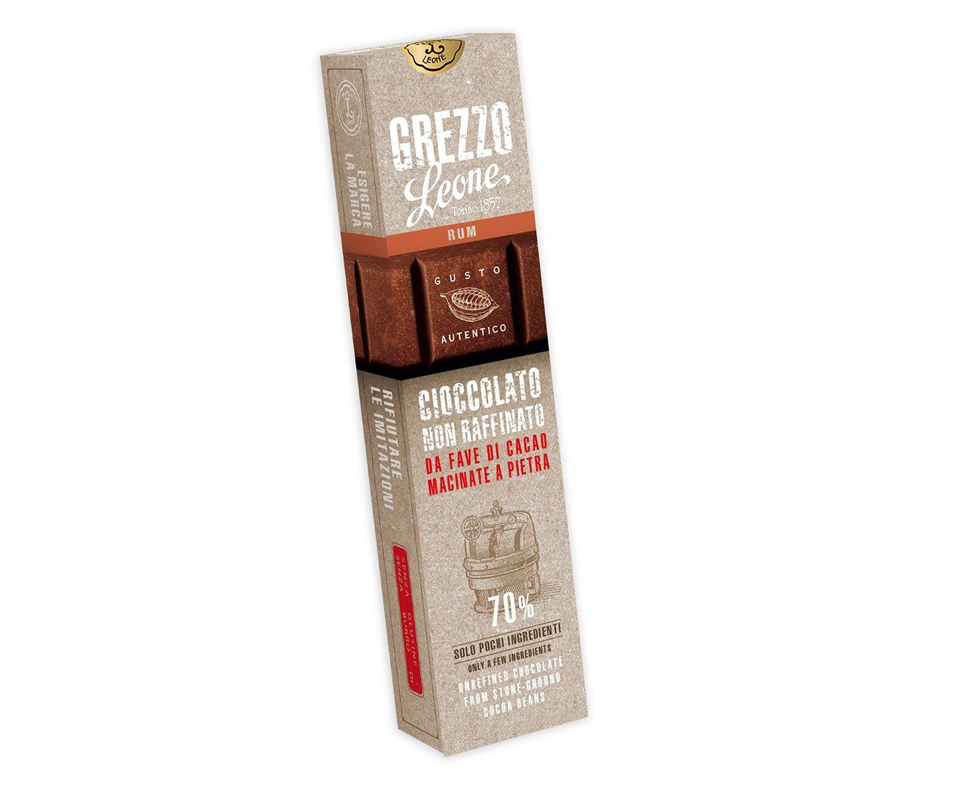 Barra de Chocolate 70% Cacau com Rum - 55G | Westwing.com.br