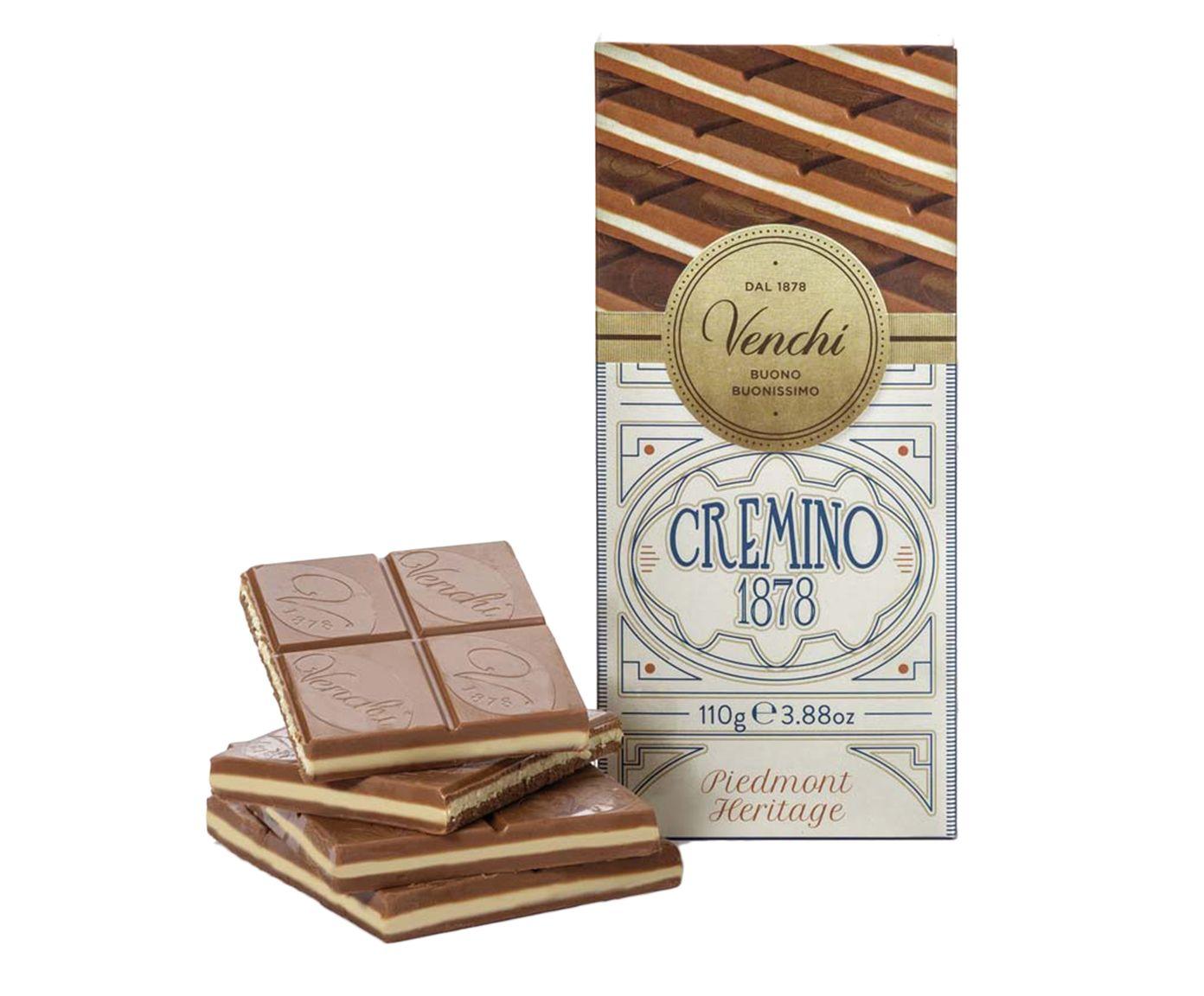 Barra de Chocolate Cremoso com Gianduia e Amendoas - 110G | Westwing.com.br