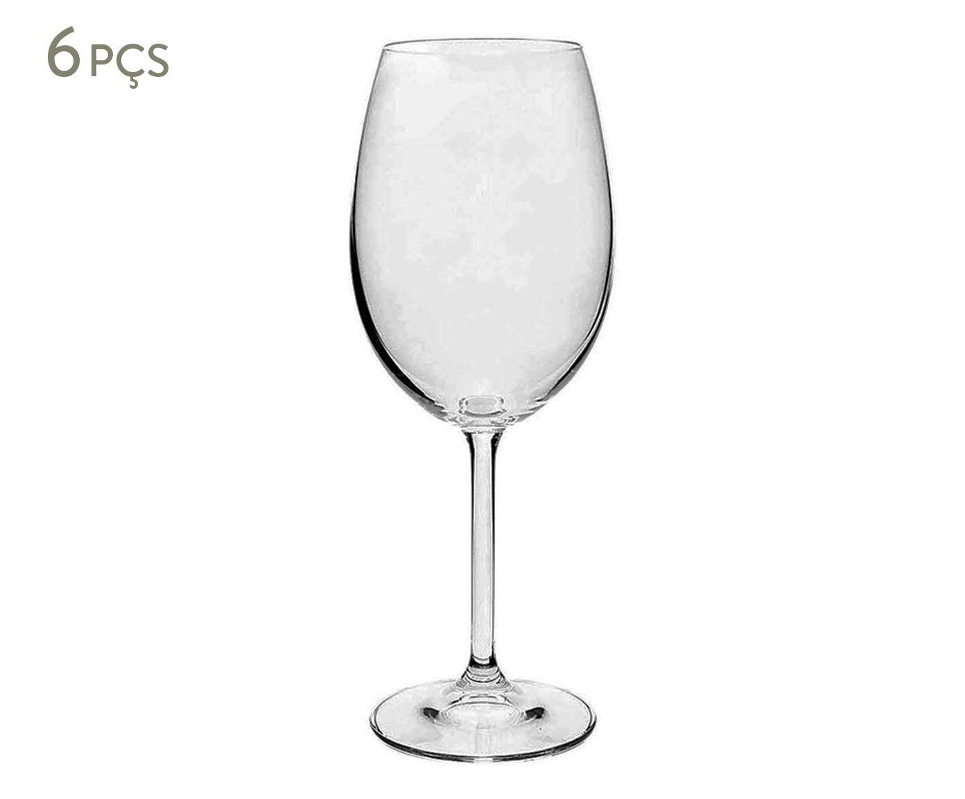 Jogo de Taças para Vinho Tinto em Cristal Ecológico Gastro - 450ml | Westwing.com.br