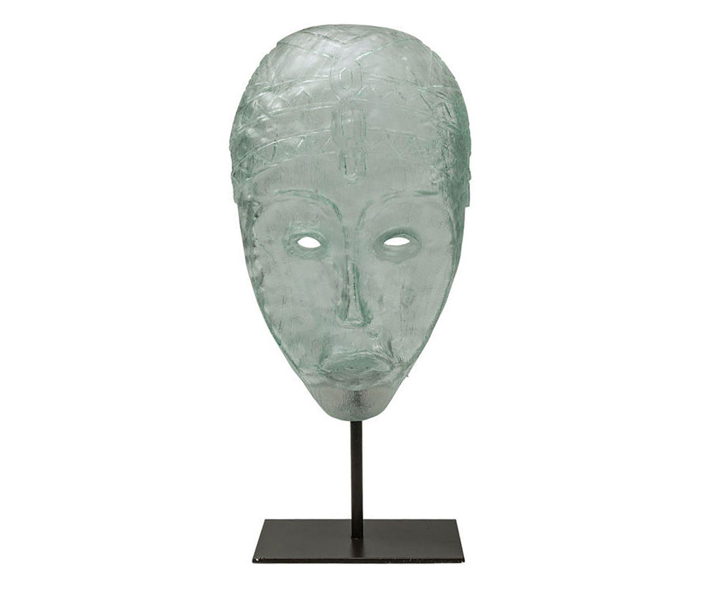 Escultura Masque Limburg - 21,5X44,5X12cm   Westwing.com.br