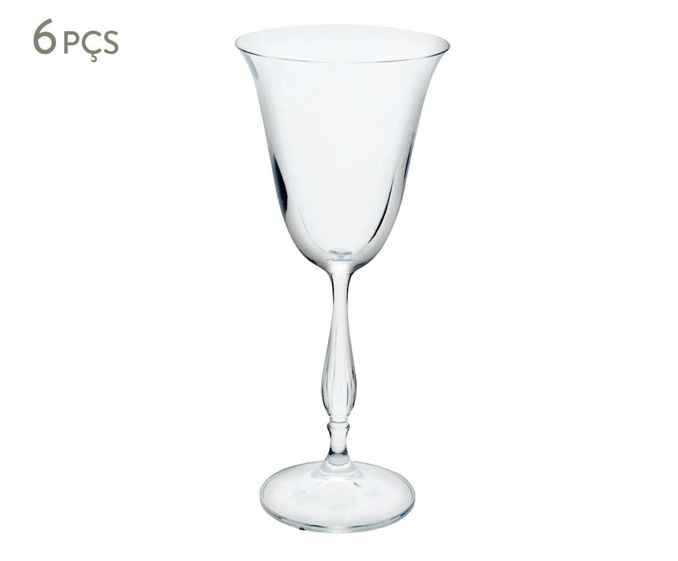 Jogo de Taças para Vinho Branco em Cristal Ecológico Fregata - 185ml | Westwing.com.br
