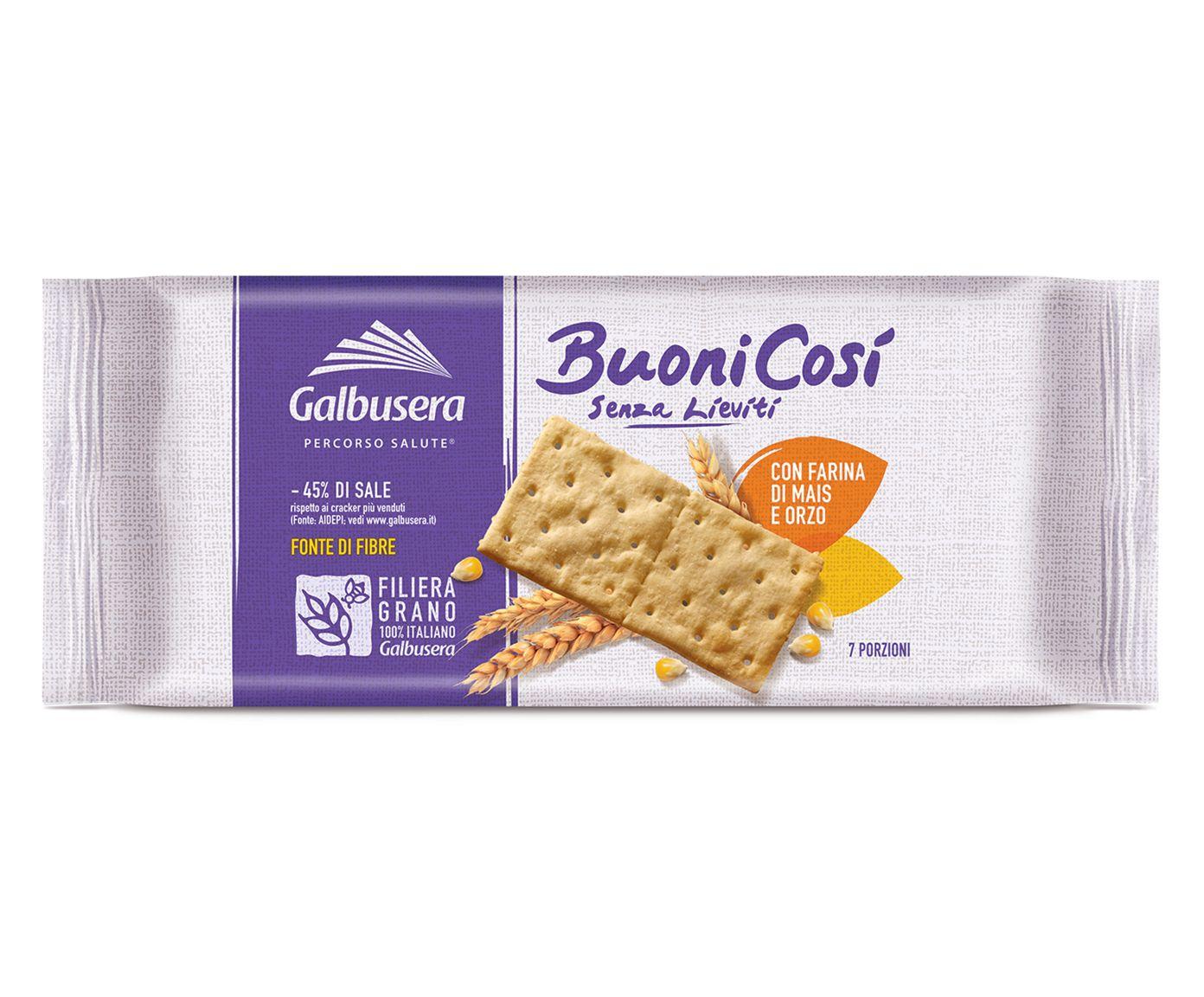 Biscoitos Crocantes com Farinha de Milho e Cevada Buono Cosi - 300G | Westwing.com.br