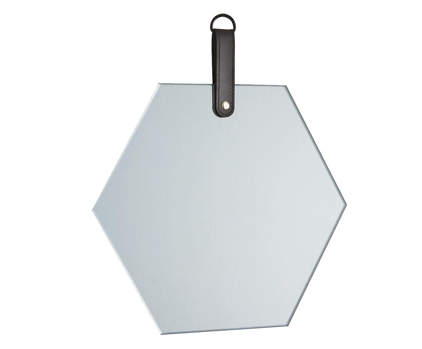 Espelho com Alça Toots - 27,5X26X1cm | Westwing.com.br