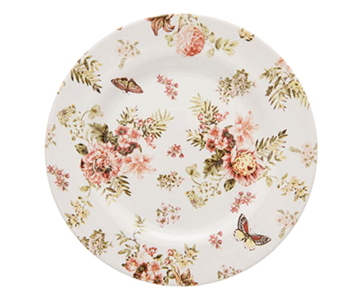 Prato para Sobremesa Aquarelle Jardim - 19,5X1,8cm | Westwing.com.br