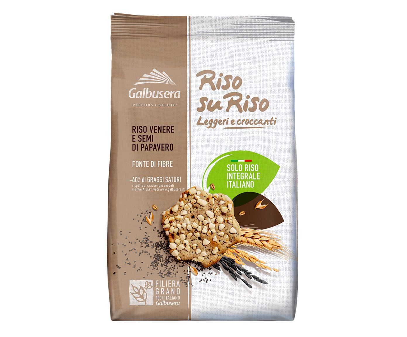 Biscoito de Arroz Venere Riso Su Riso - 200G   Westwing.com.br