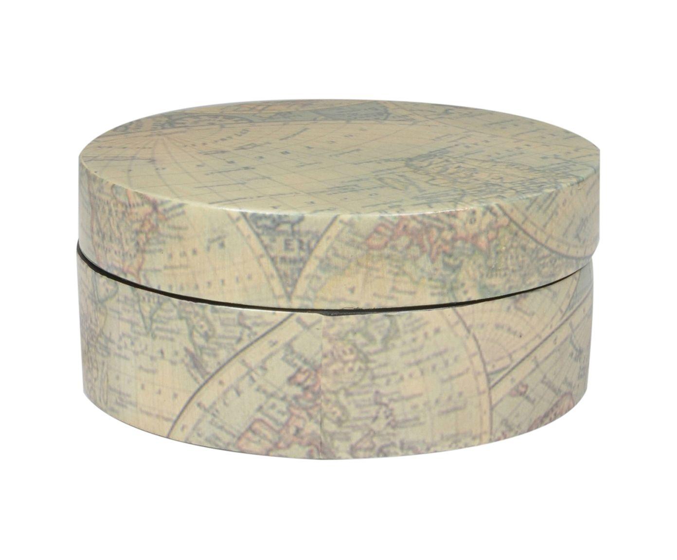 Caixa Decorativa World - 19cm | Westwing.com.br