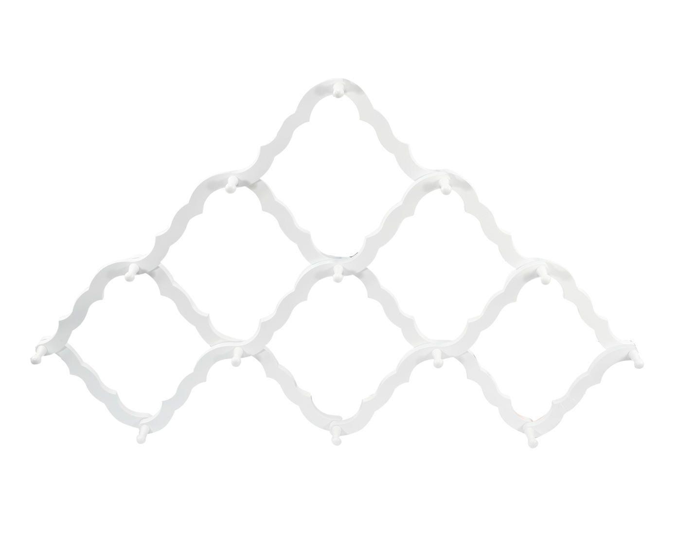 Cabideiro Whit Branco - 85X80X8cm | Westwing.com.br