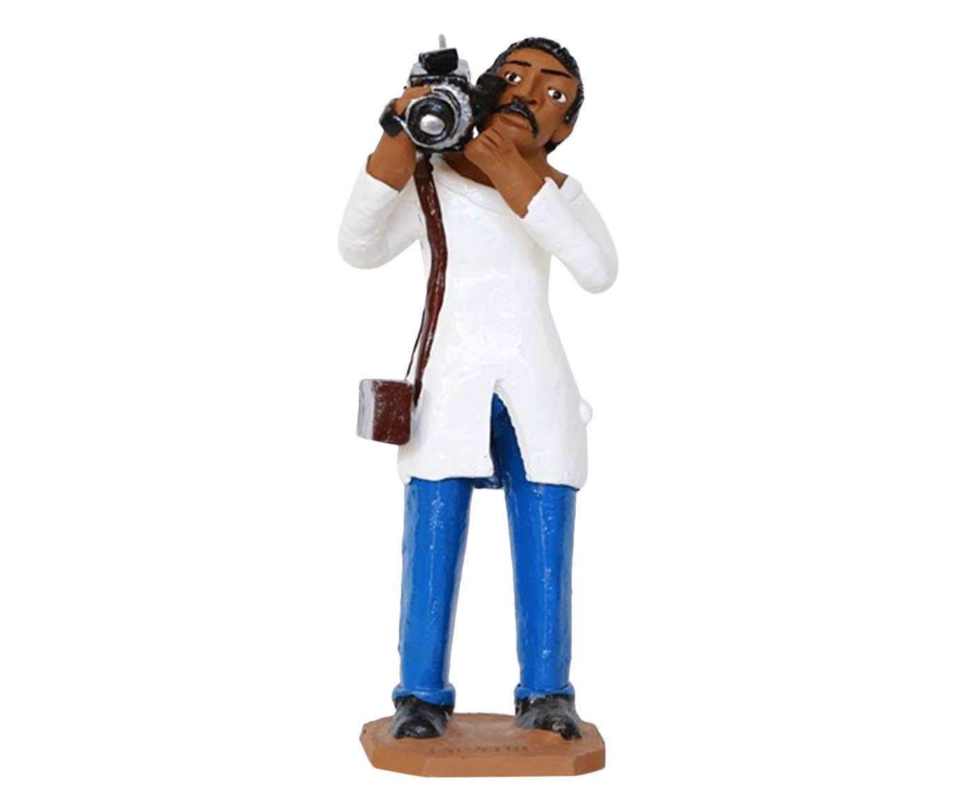 Escultura Fotógrafo Iii - 12X30X10cm | Westwing.com.br