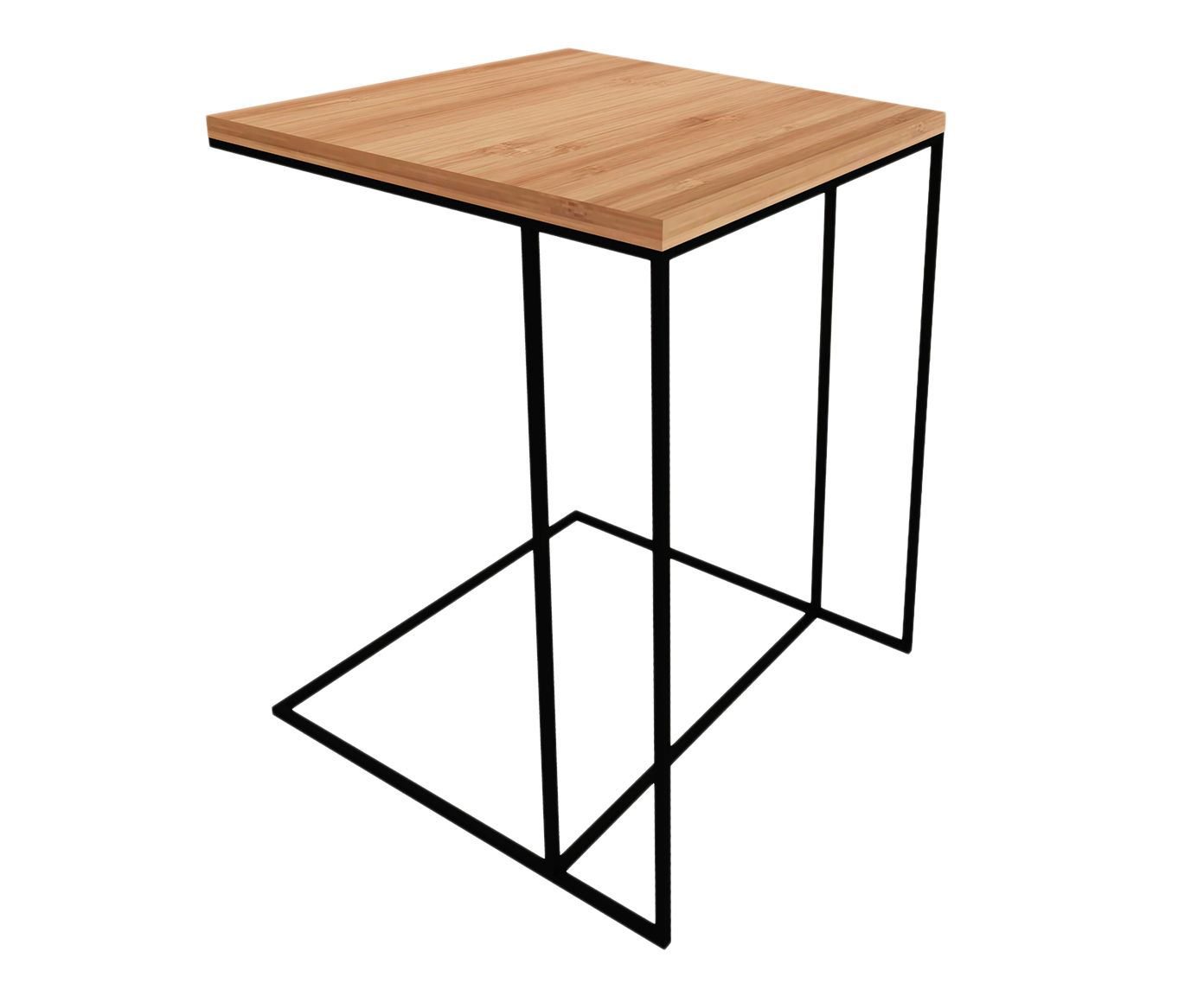 Mesa Lateral Nero Natural - 50X60X40cm | Westwing.com.br