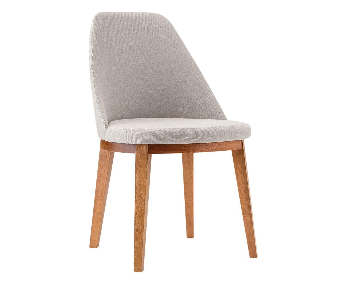 Cadeira Lisa Prateada - 55X86X53cm | Westwing.com.br