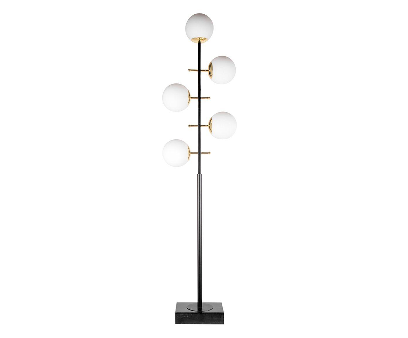 Luminária de Piso Five Balls Bivolt - 40X160cm | Westwing.com.br