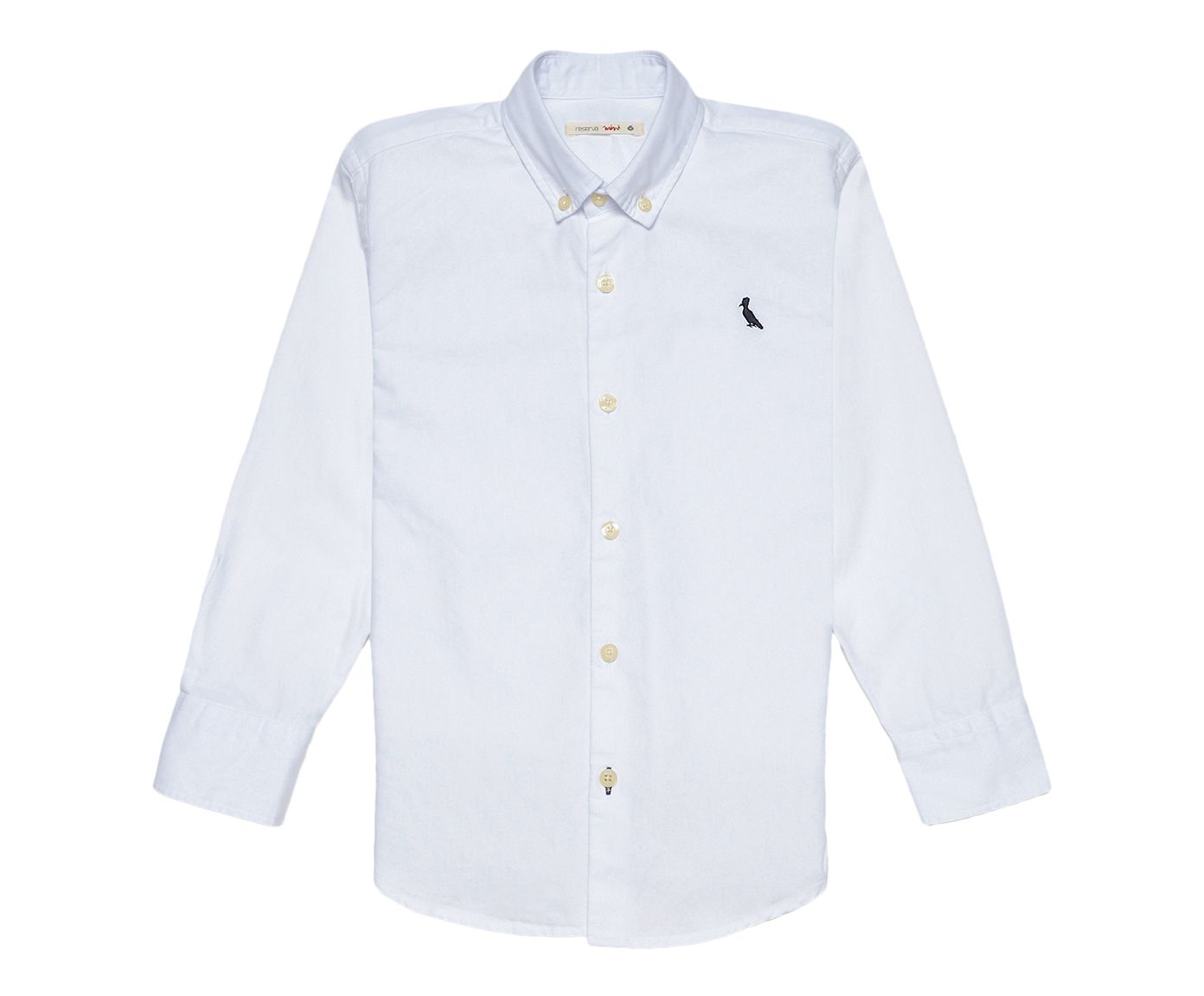 Camisa Infantil Reserva Mini Oxford Branca, 4 | Westwing.com.br