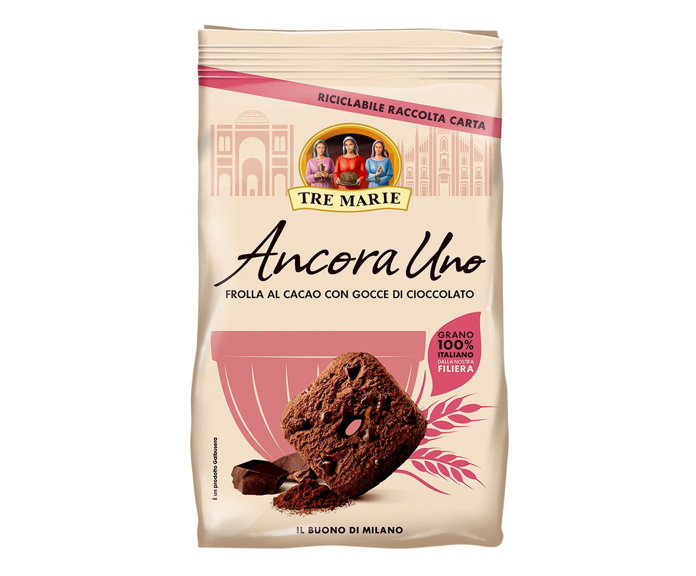 Biscoito de Cacau com Gotas de Chocolate Ancora Uno - 300G   Westwing.com.br