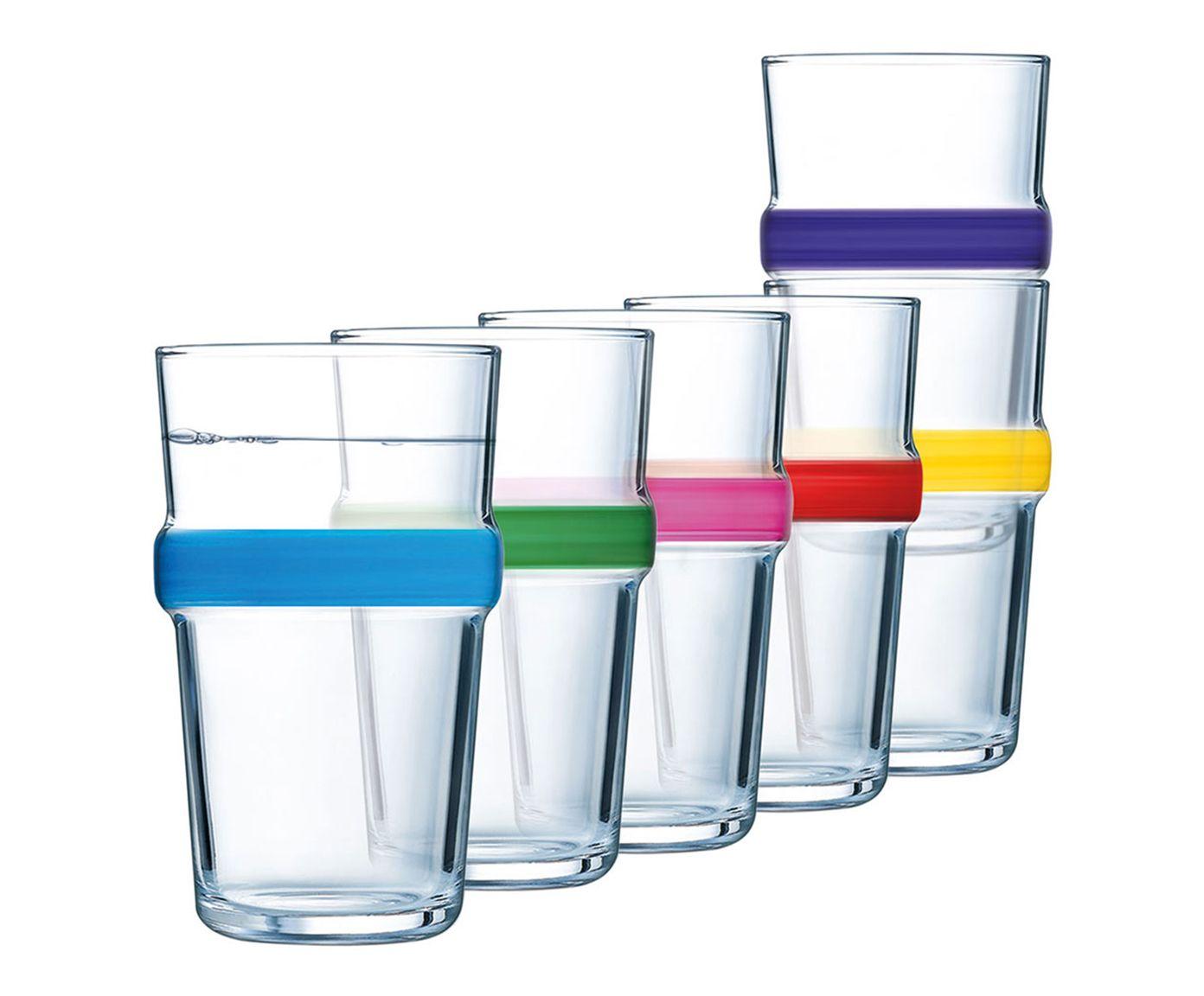 Jogo de Copos para Long Drink Acrobate Colors - 320ml | Westwing.com.br
