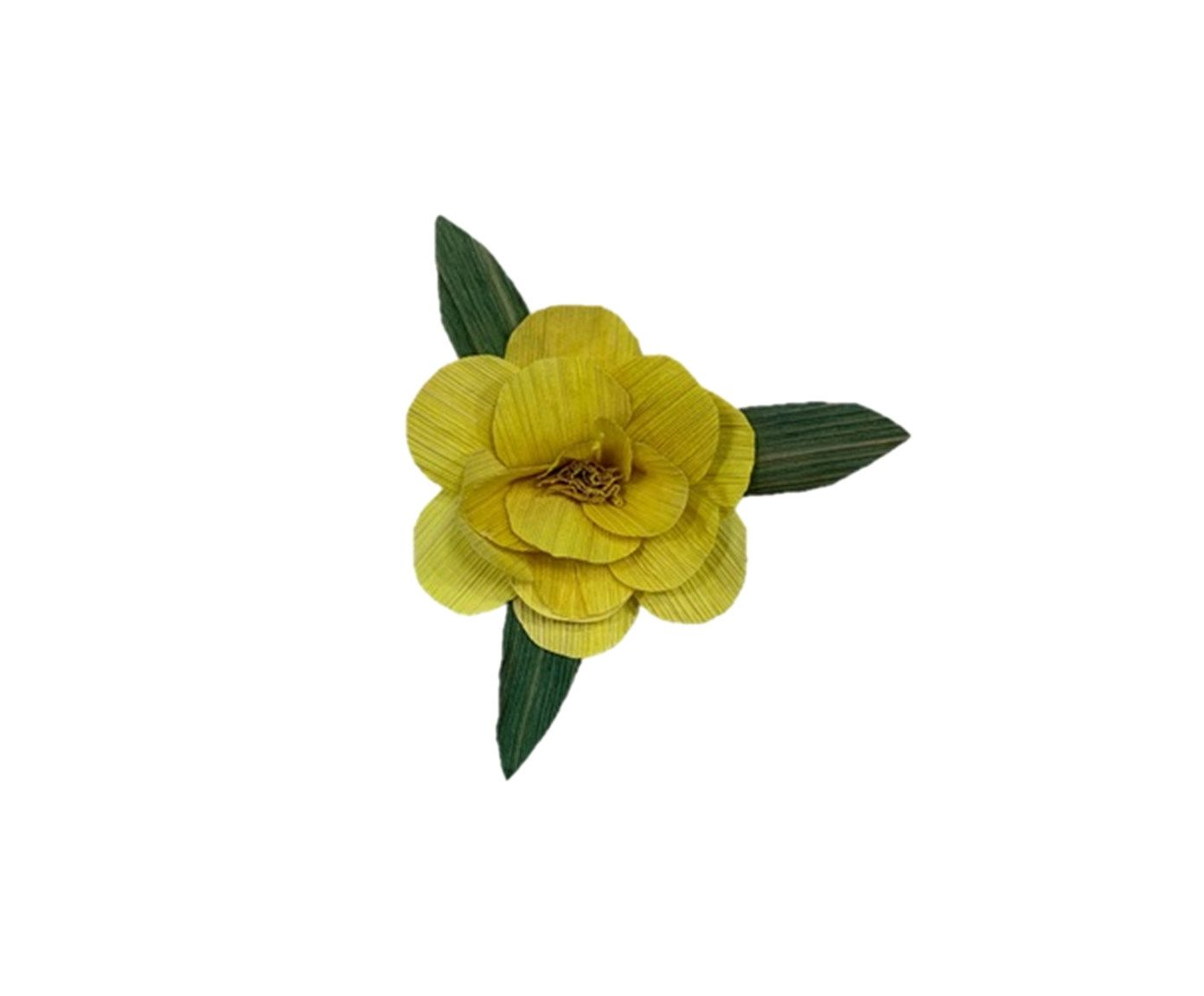 Anel para Guardanapo Palha Amarelo - 6cm   Westwing.com.br