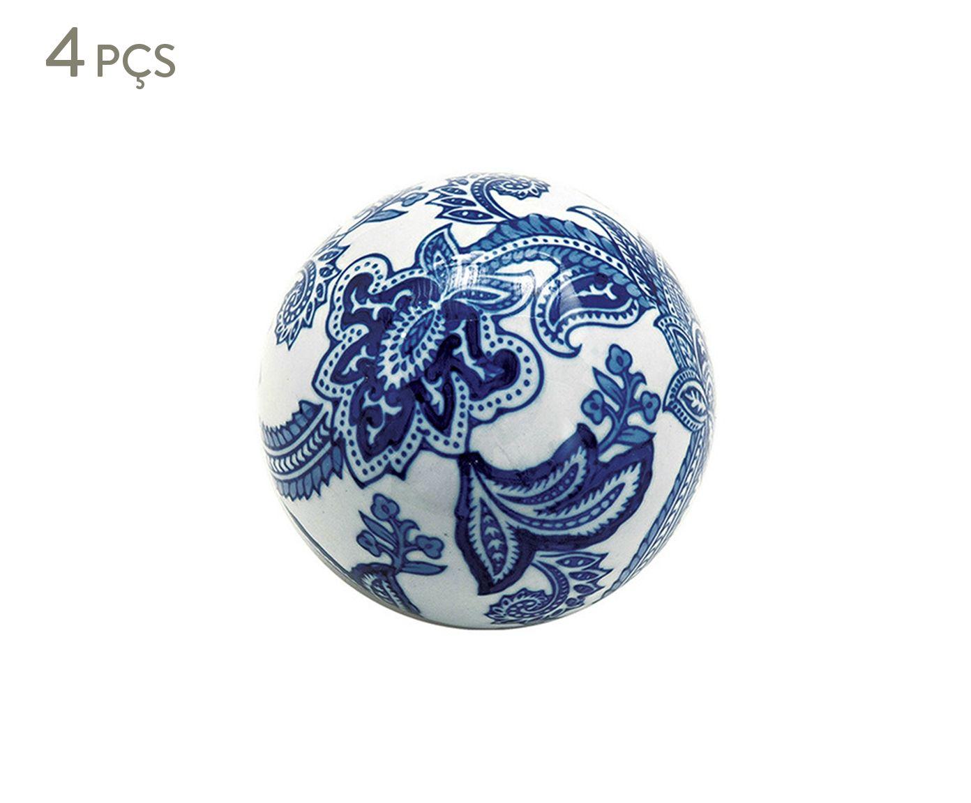 Jogo de Esferas Decorativas Suzy - 10cm | Westwing.com.br