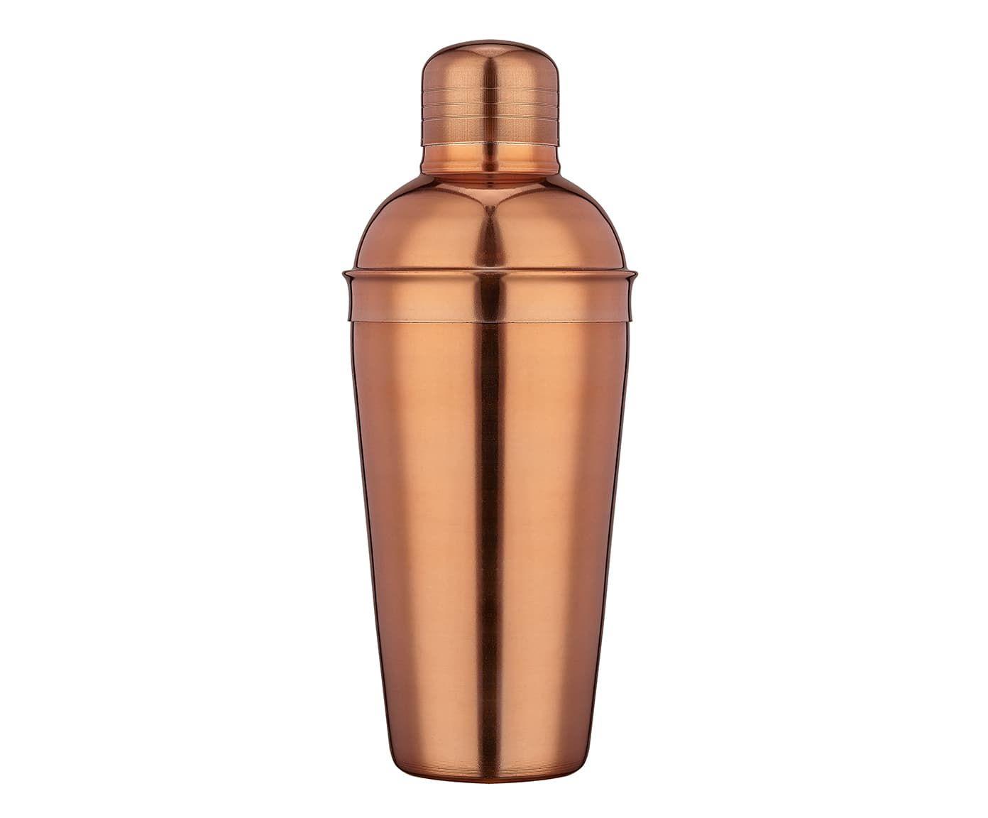 Coqueteleira em Inox Quino Dourado Rosê - 500ml | Westwing.com.br