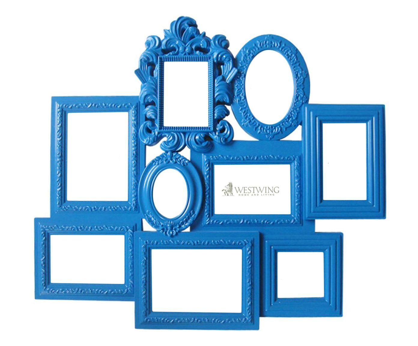 Porta-Retrato Multiple Barroque Frame - 58X66X3cm   Westwing.com.br
