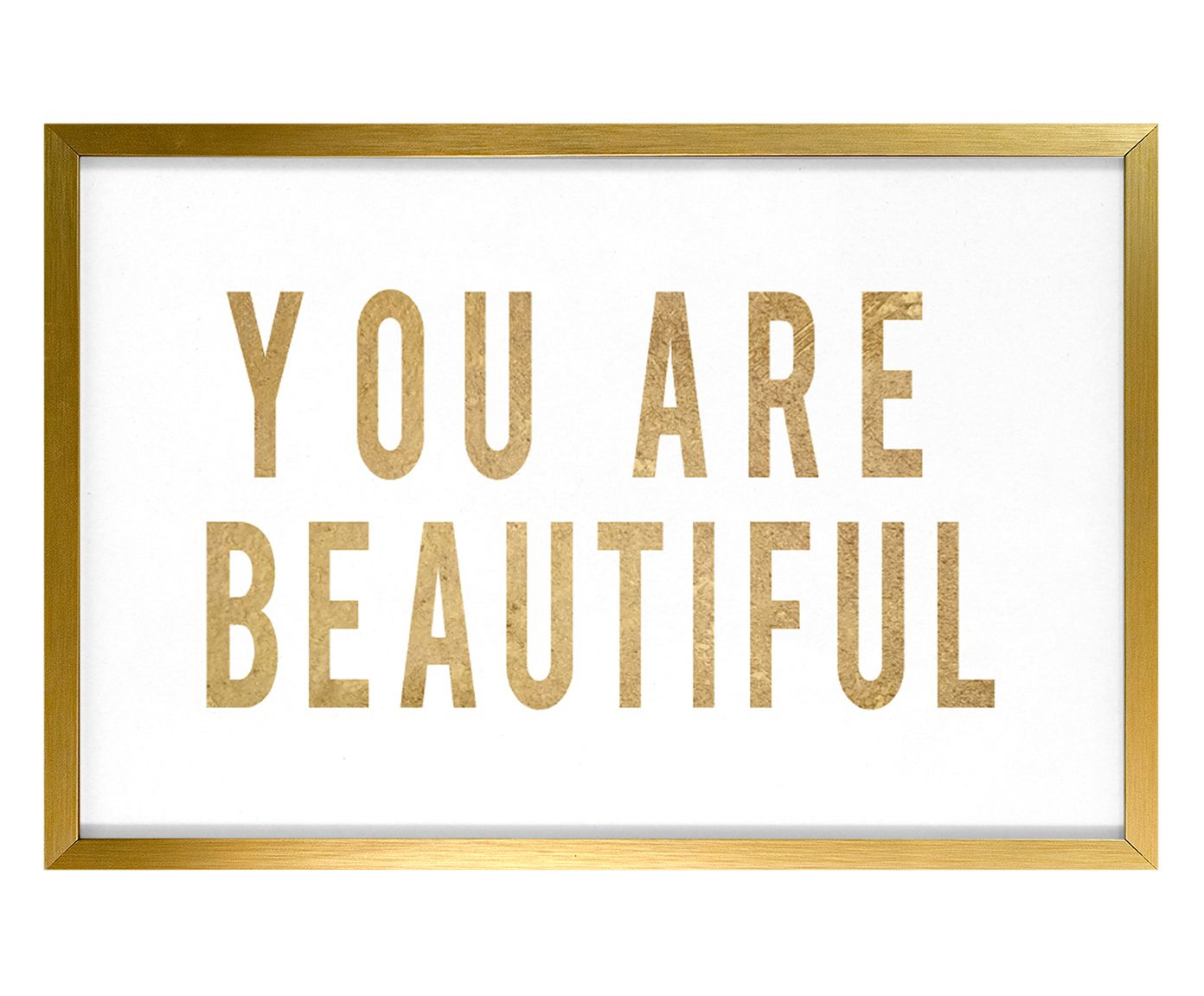 Quadro You Are Beautiful - 34X24cm | Westwing.com.br