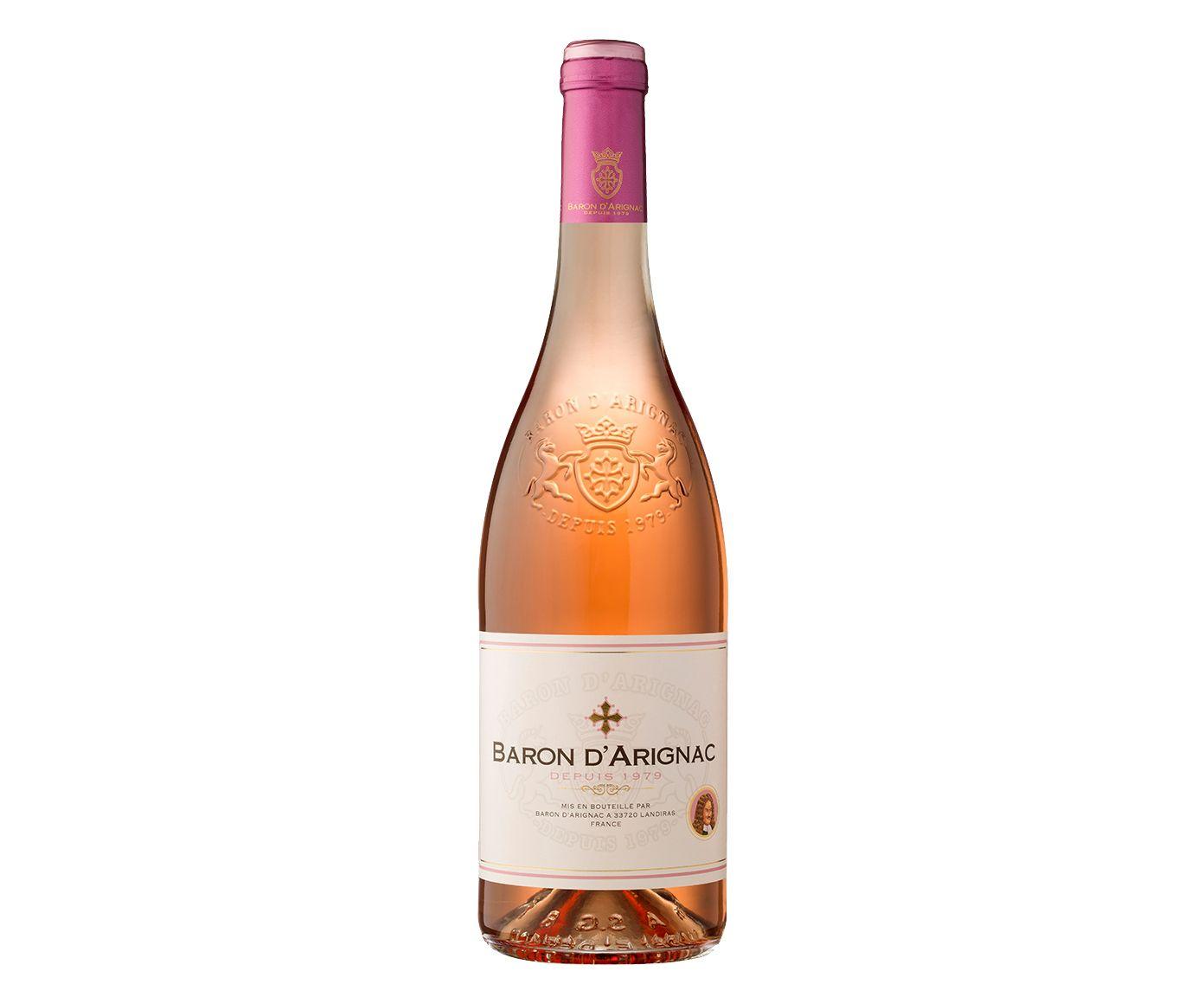 Vinho Rosê Baron D'Arignac - 750 ml   Westwing.com.br