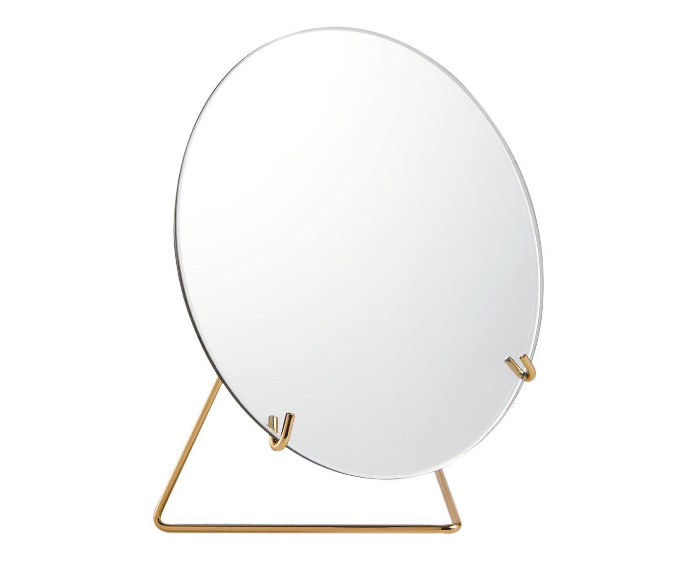 Espelho Lorena Dourado - 20X14cm | Westwing.com.br