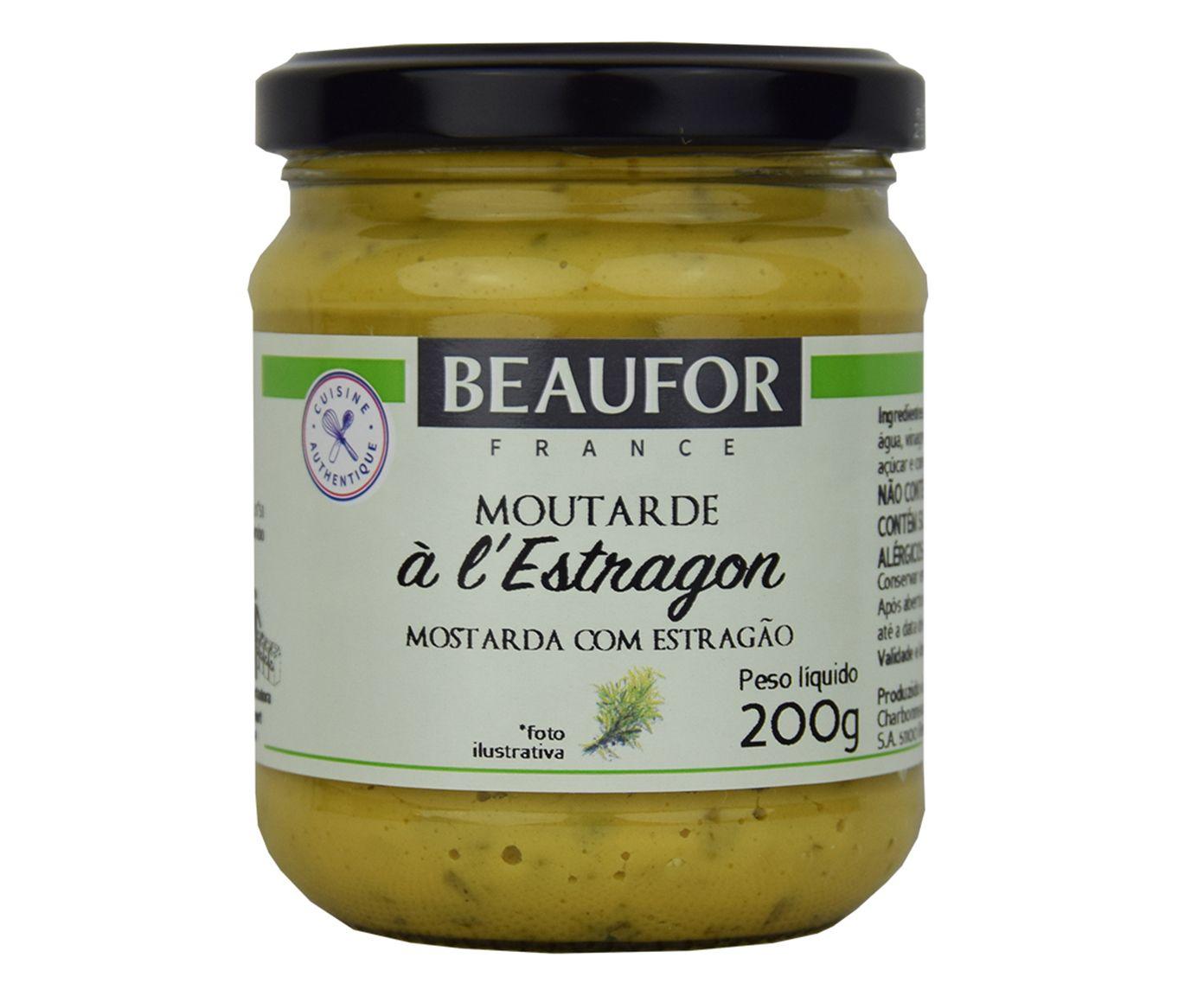 Mostarda Beaufor Estragon - 200G | Westwing.com.br