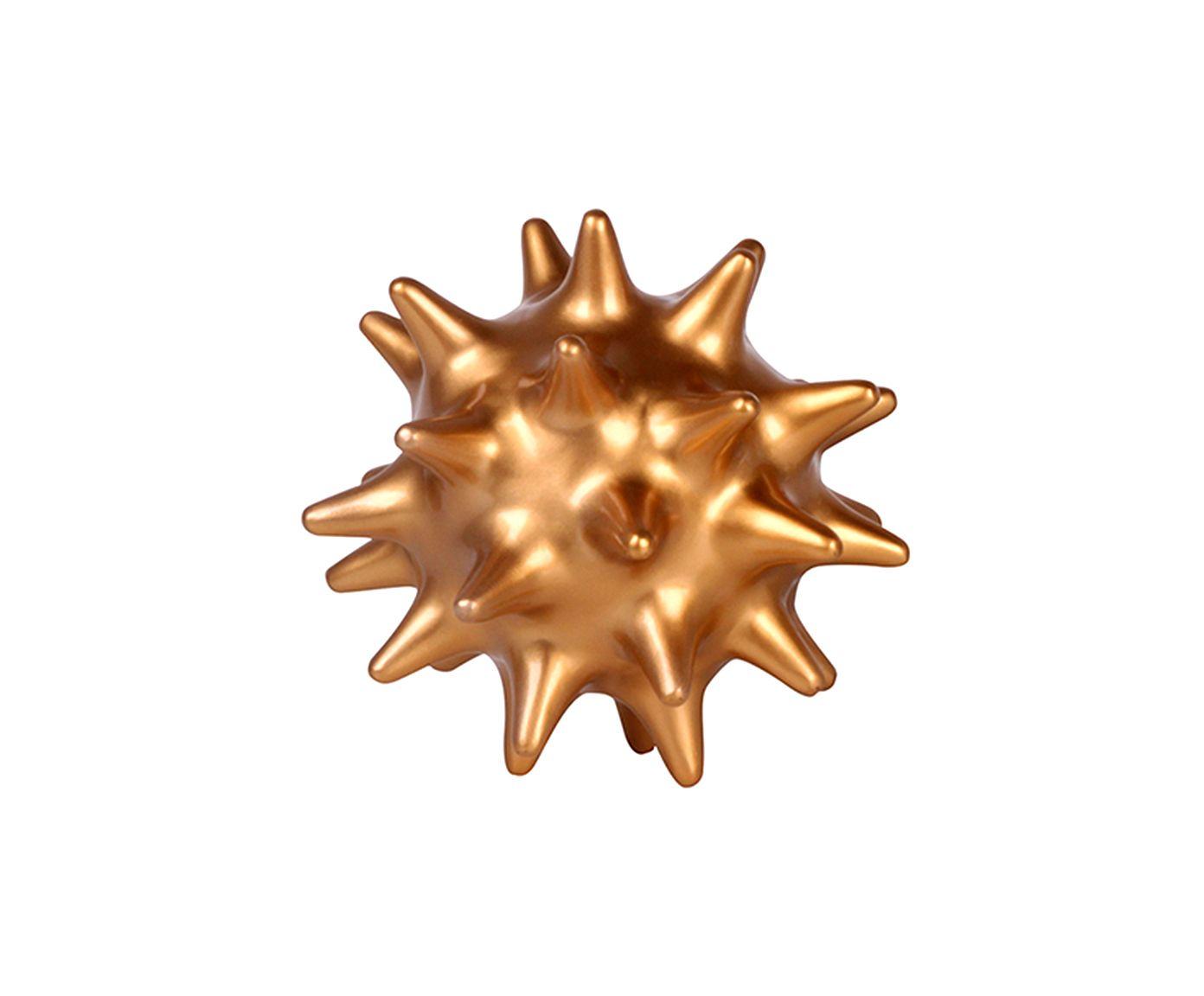 Adorno Ouriço Acobreado - 20X 20cm | Westwing.com.br