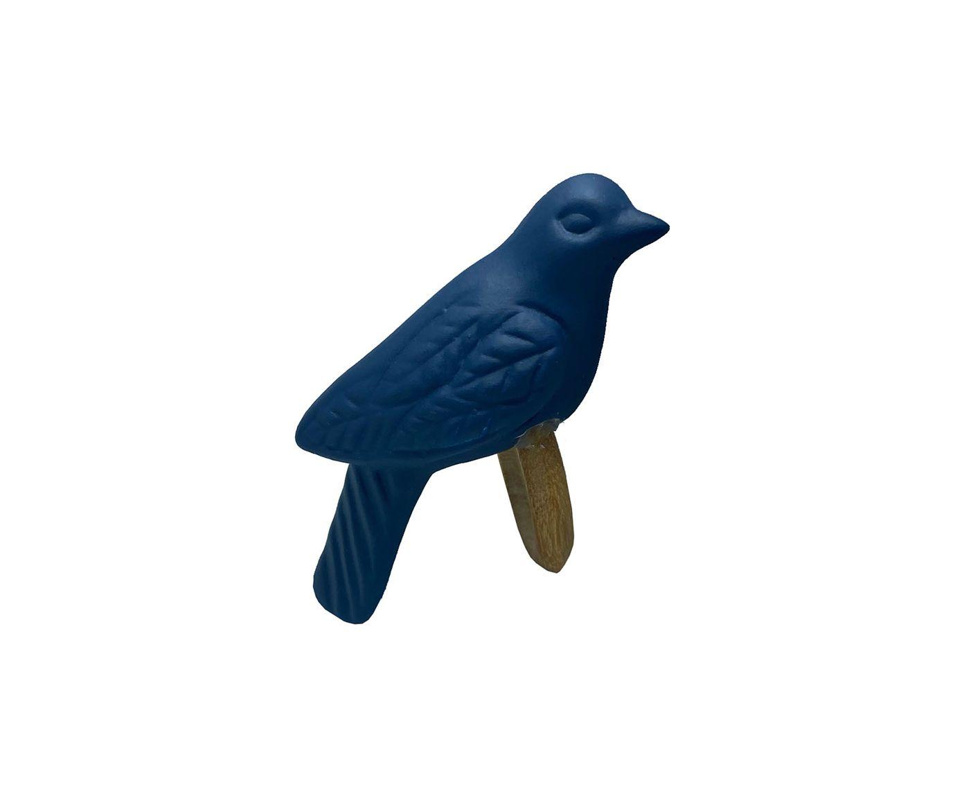 Anel para Guardanapo Pássaro Fosco Marinho - 12X6cm | Westwing.com.br