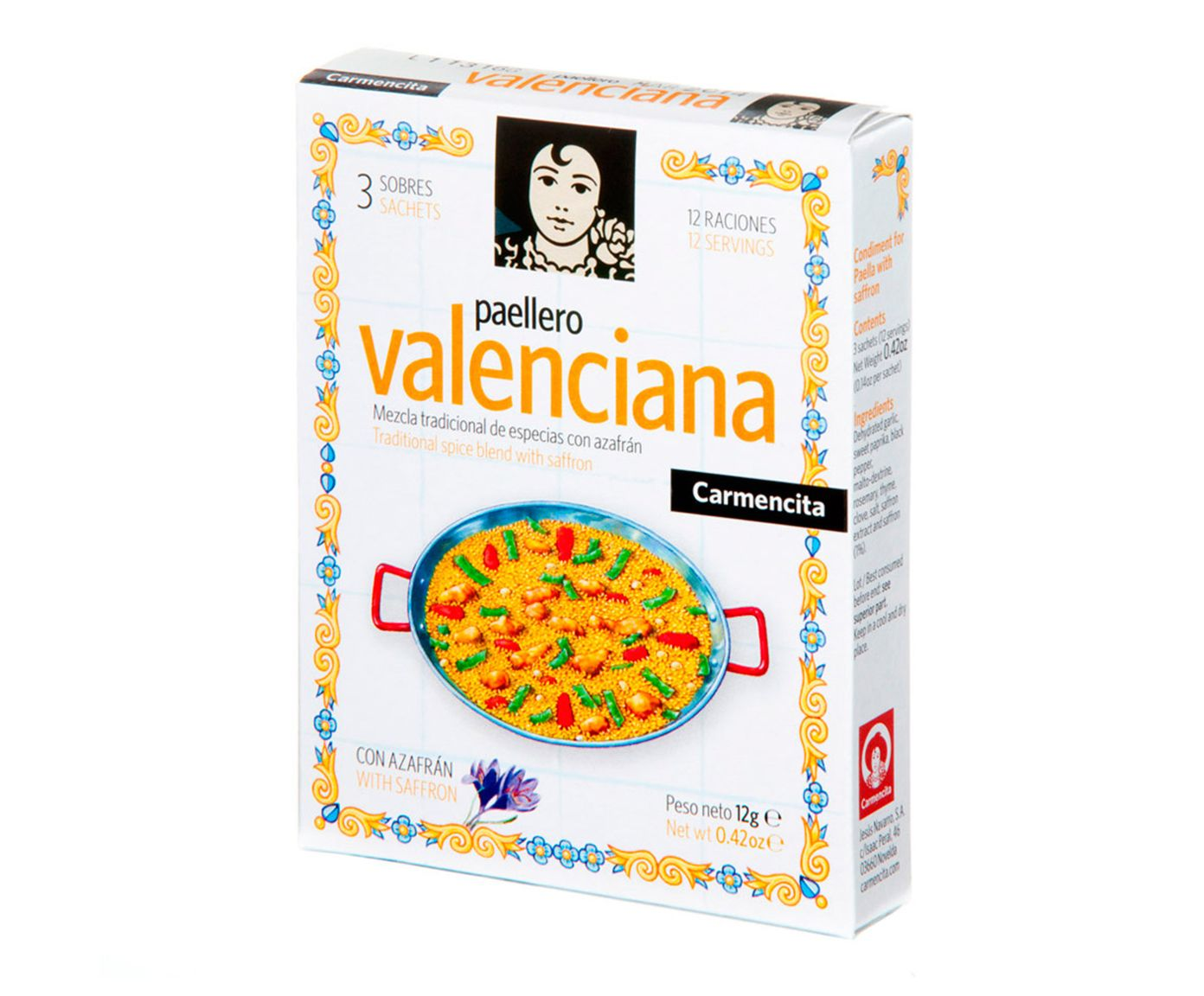Tempero Paellero Valenciana - 12G | Westwing.com.br