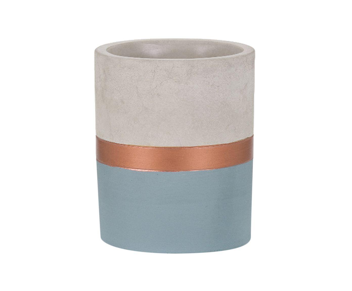 Vaso Eva Azul - 9X8cm   Westwing.com.br