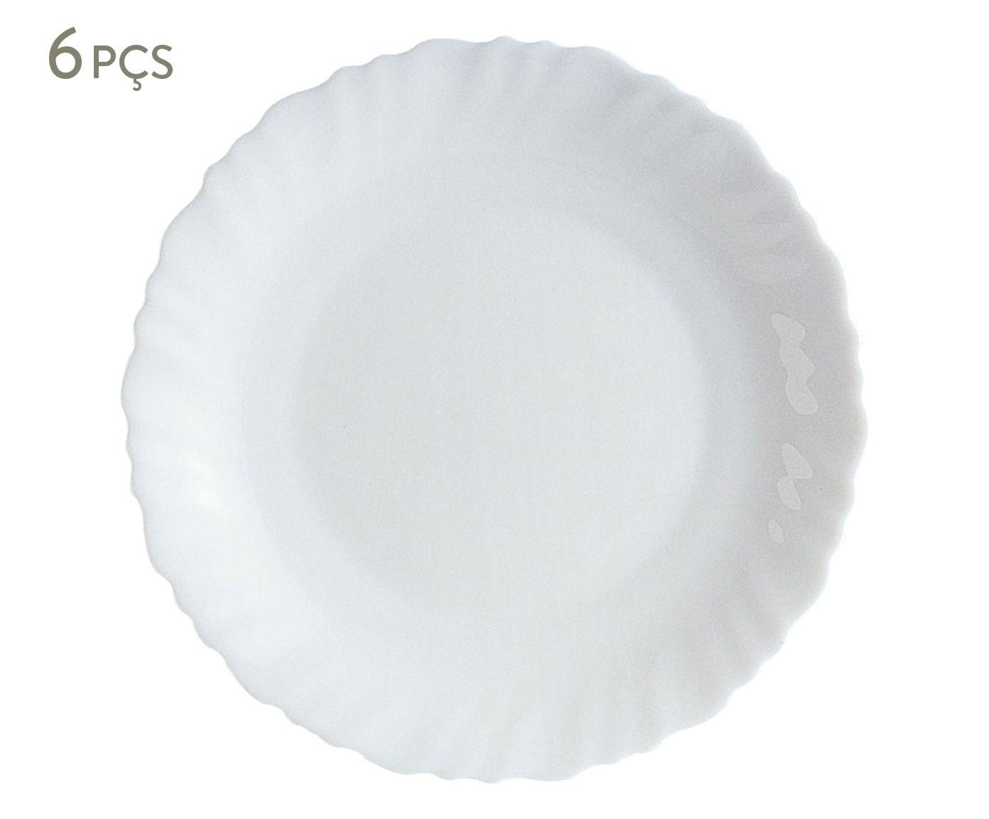 Jogo de Pratos para Sobremesa Luminarc Feston - 19cm | Westwing.com.br