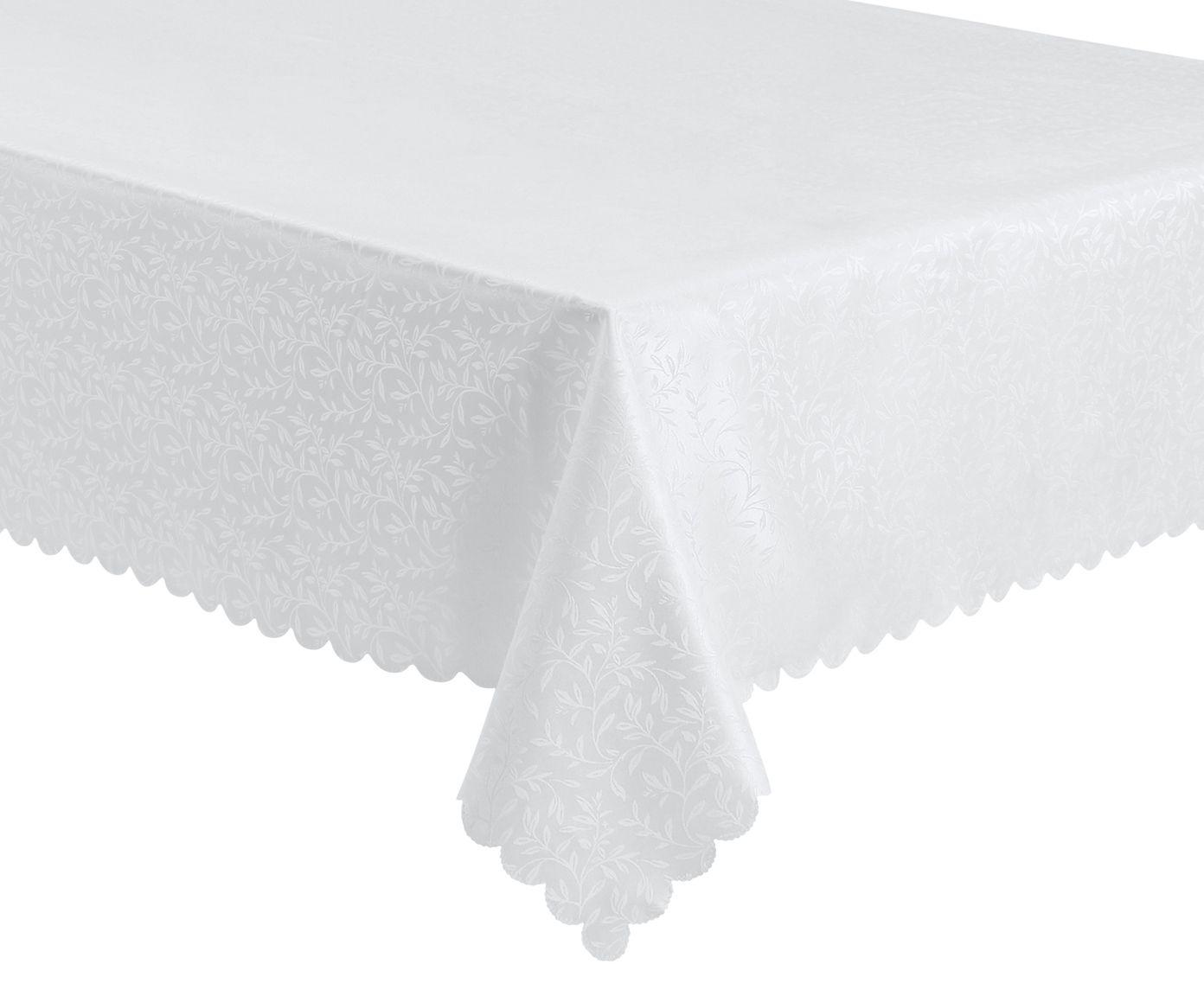 Toalha de Mesa Auguri Rami Branca - 160X220cm | Westwing.com.br