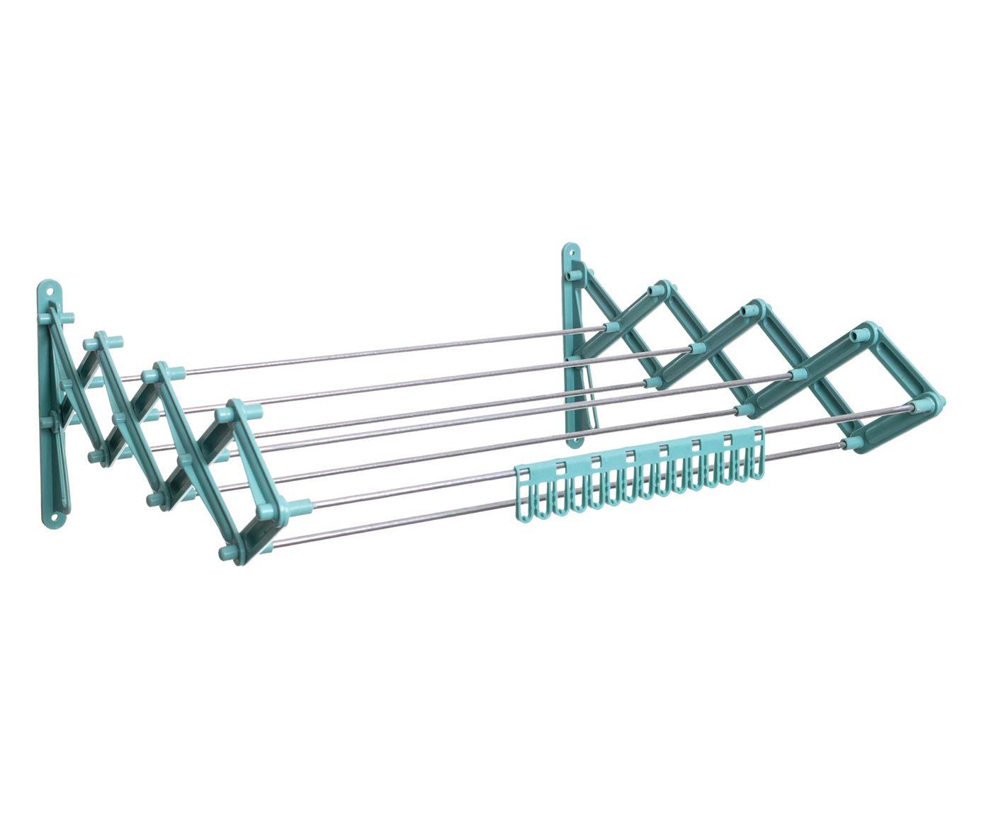 Varal Sanfona Betty Eco Metalic - 50X19,5X44,5cm | Westwing.com.br