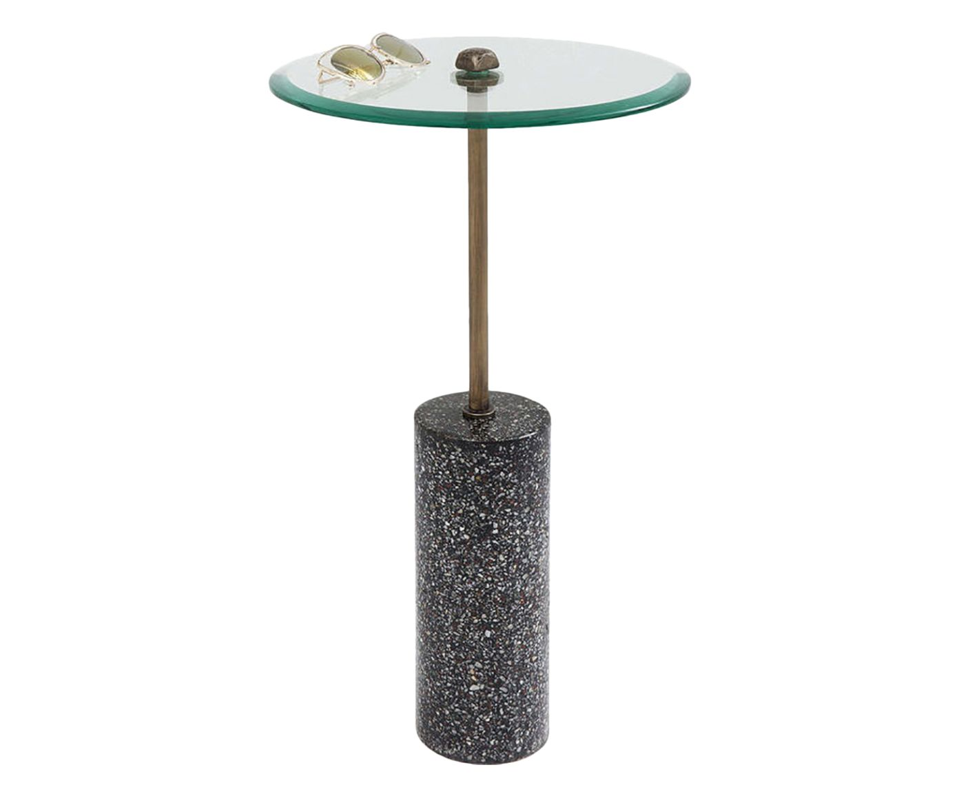 Mesa Lateral Terrazzo - 67cm | Westwing.com.br