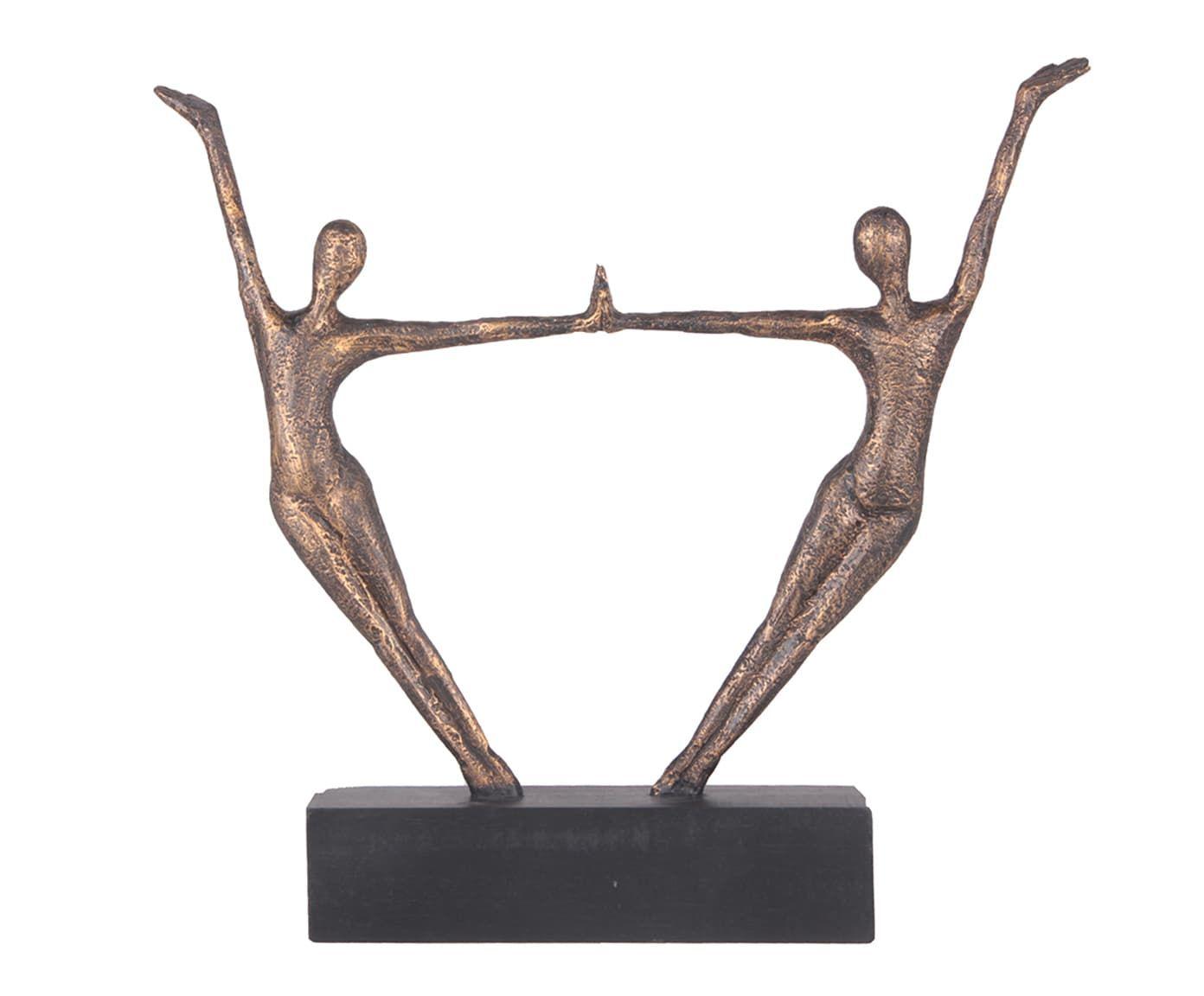 Adorno Dancing Dourado - 51X55cm   Westwing.com.br