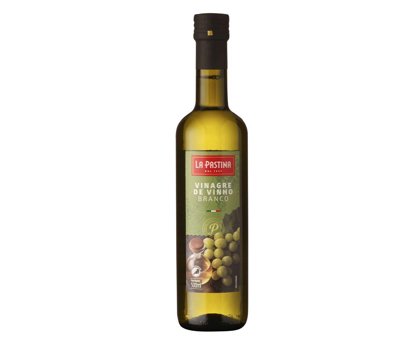 Vinagre de Vinho Branco La Pastina - 500ml | Westwing.com.br