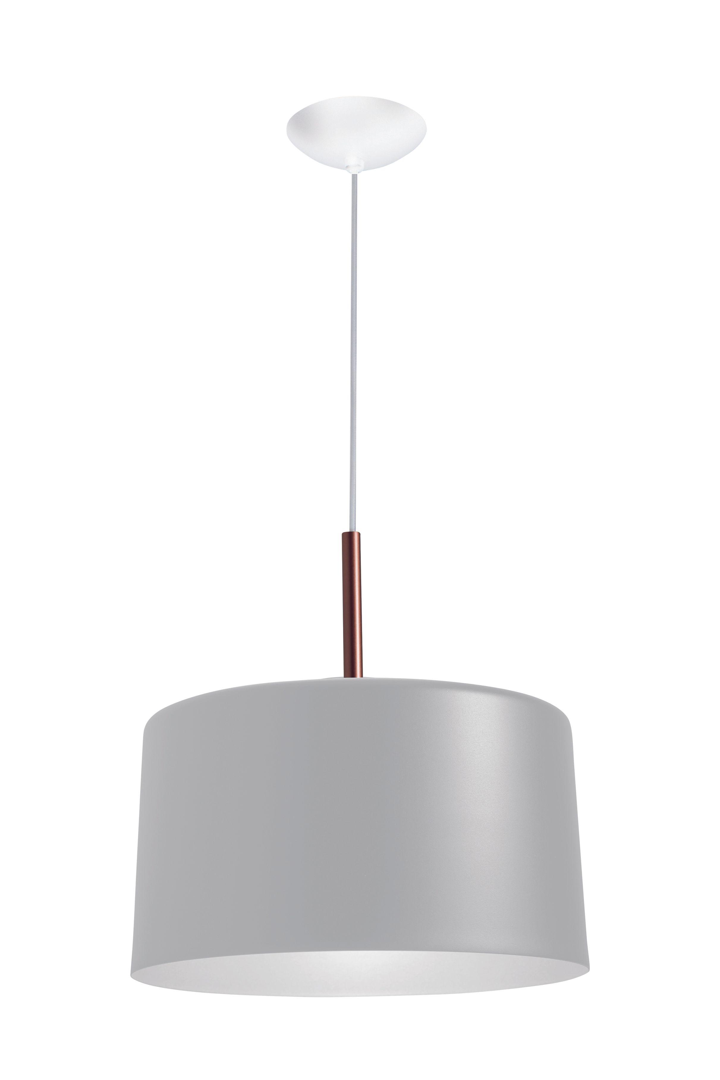 Pendente Bilboque Branco Bivolt - 37X35cm | Westwing.com.br