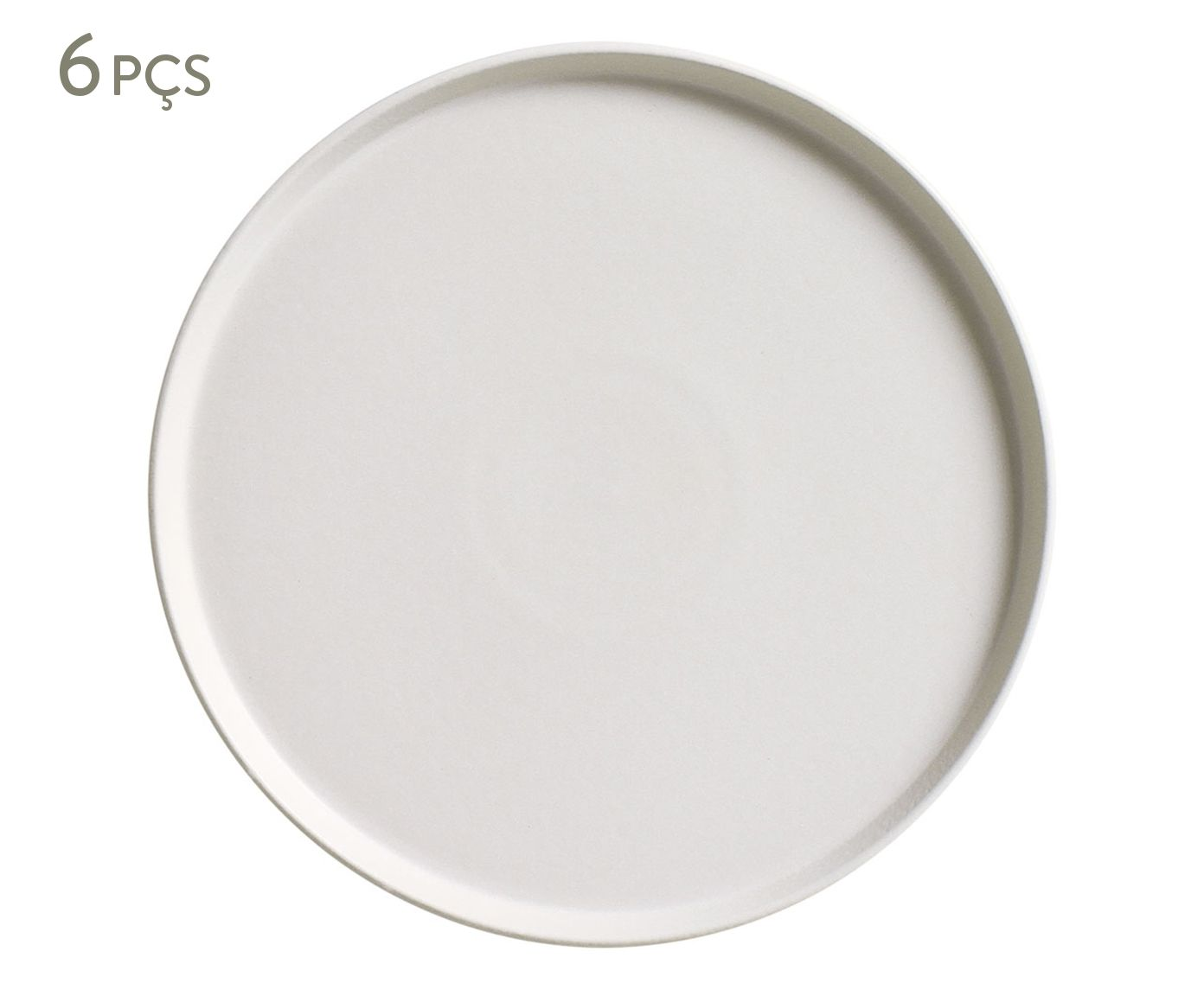 Jogo de Pratos para Sobremesa Neo Vit - 21,5cm | Westwing.com.br