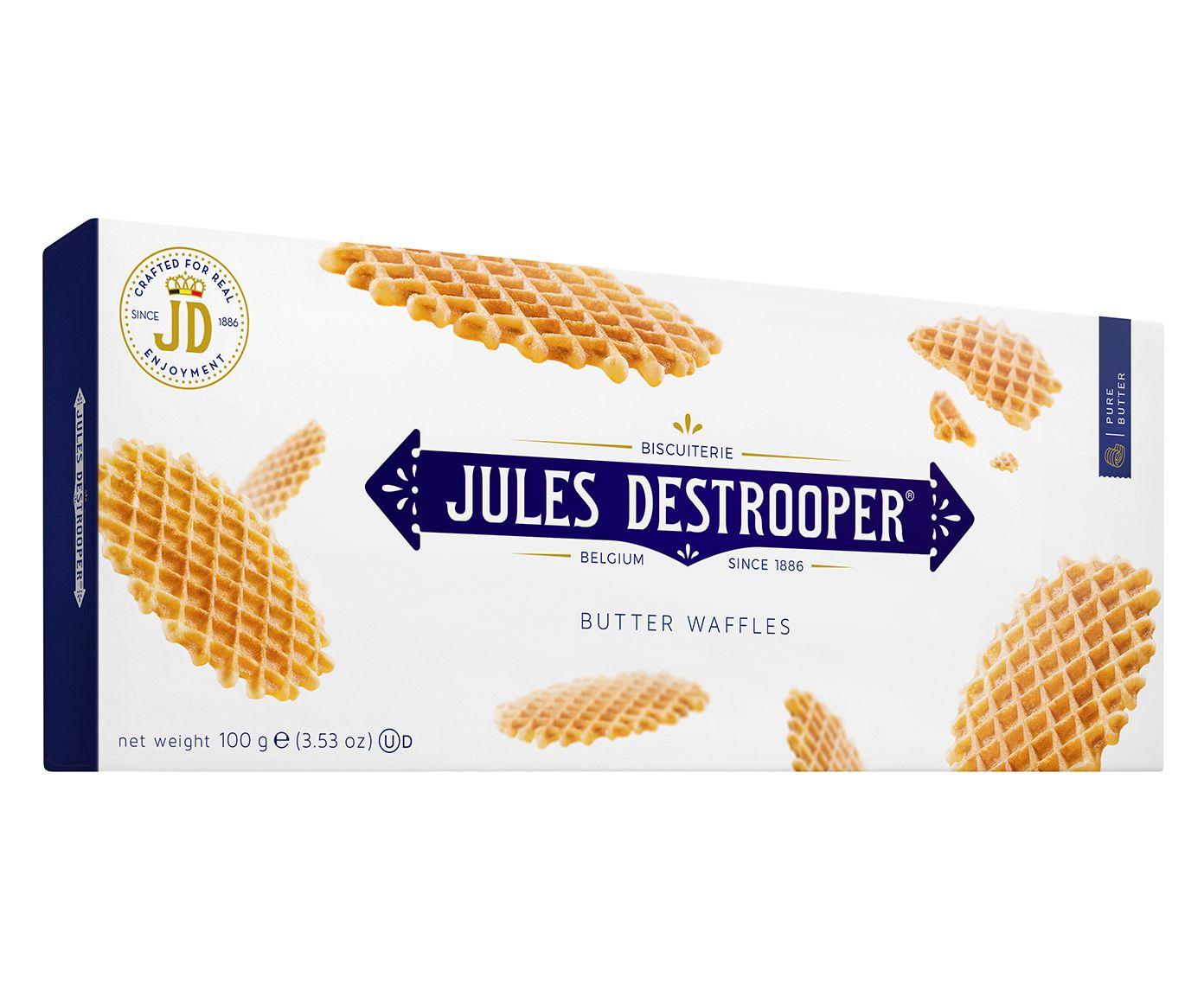 Biscoito Belga Jules D. Butter Waffles - 100G | Westwing.com.br