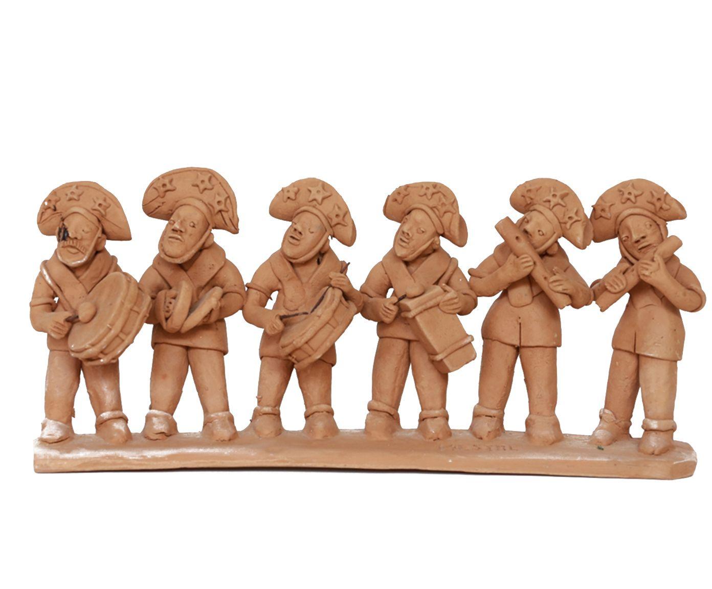 Escultura Banda de Pifano - 35X15X7,5cm | Westwing.com.br