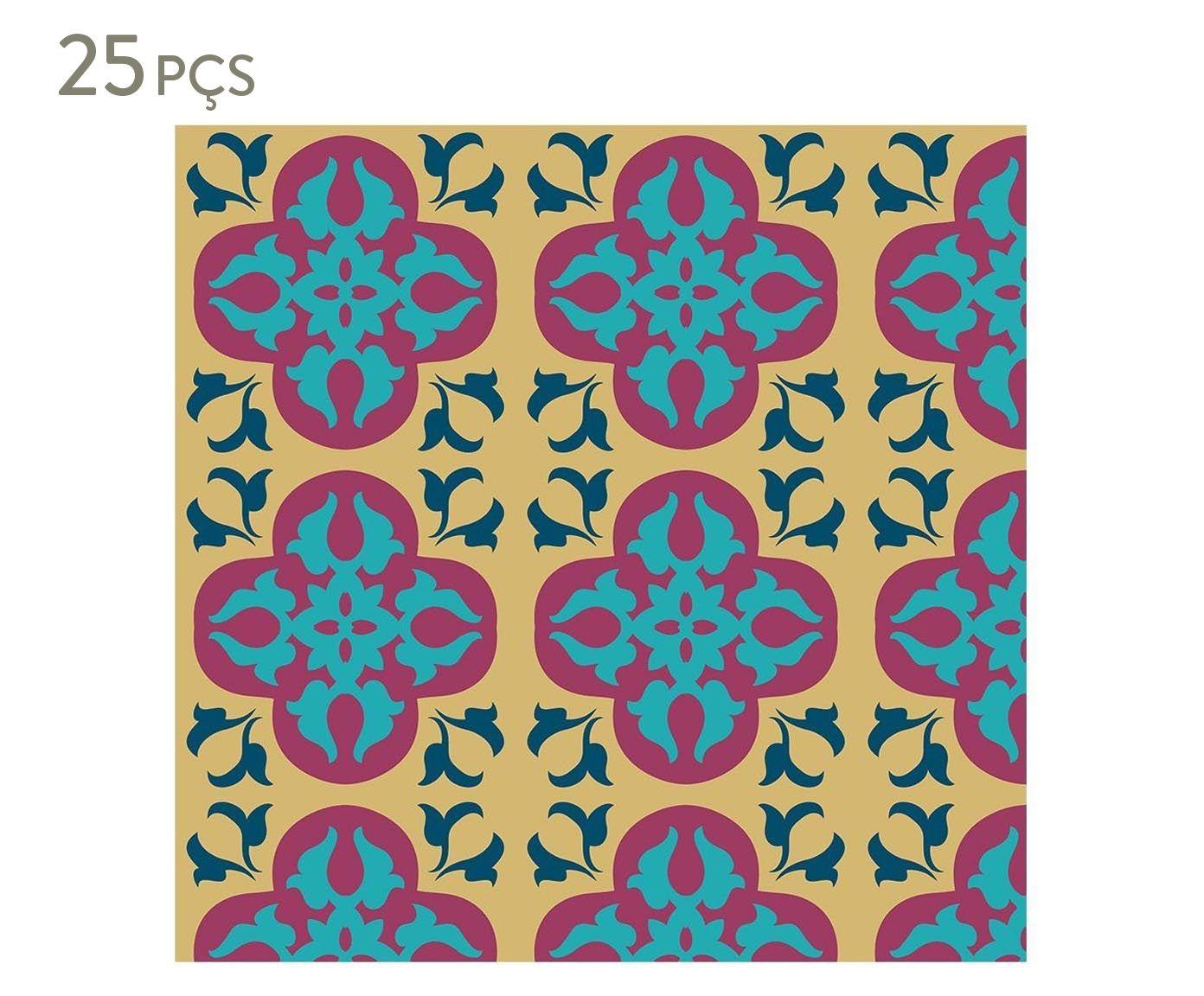 Conjunto de ladrilhos adesivos eleonor - 15x15cm | Westwing.com.br