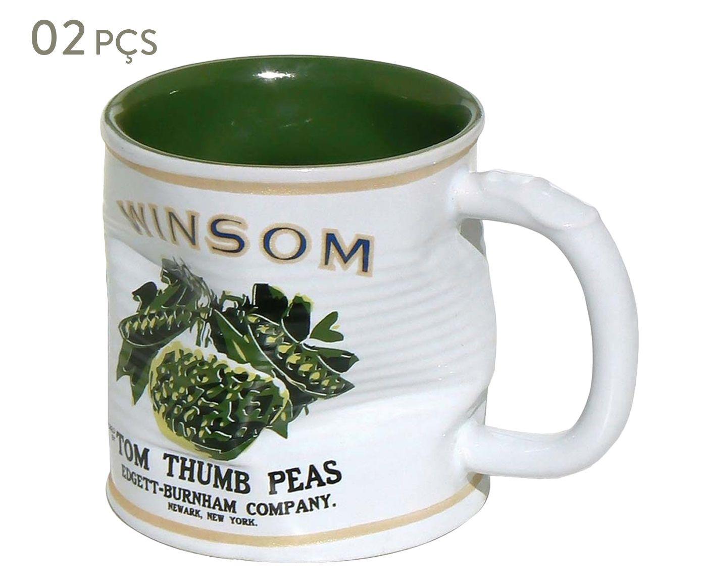 Conjunto de Canecas Smashed winsom - 320 ml | Westwing.com.br