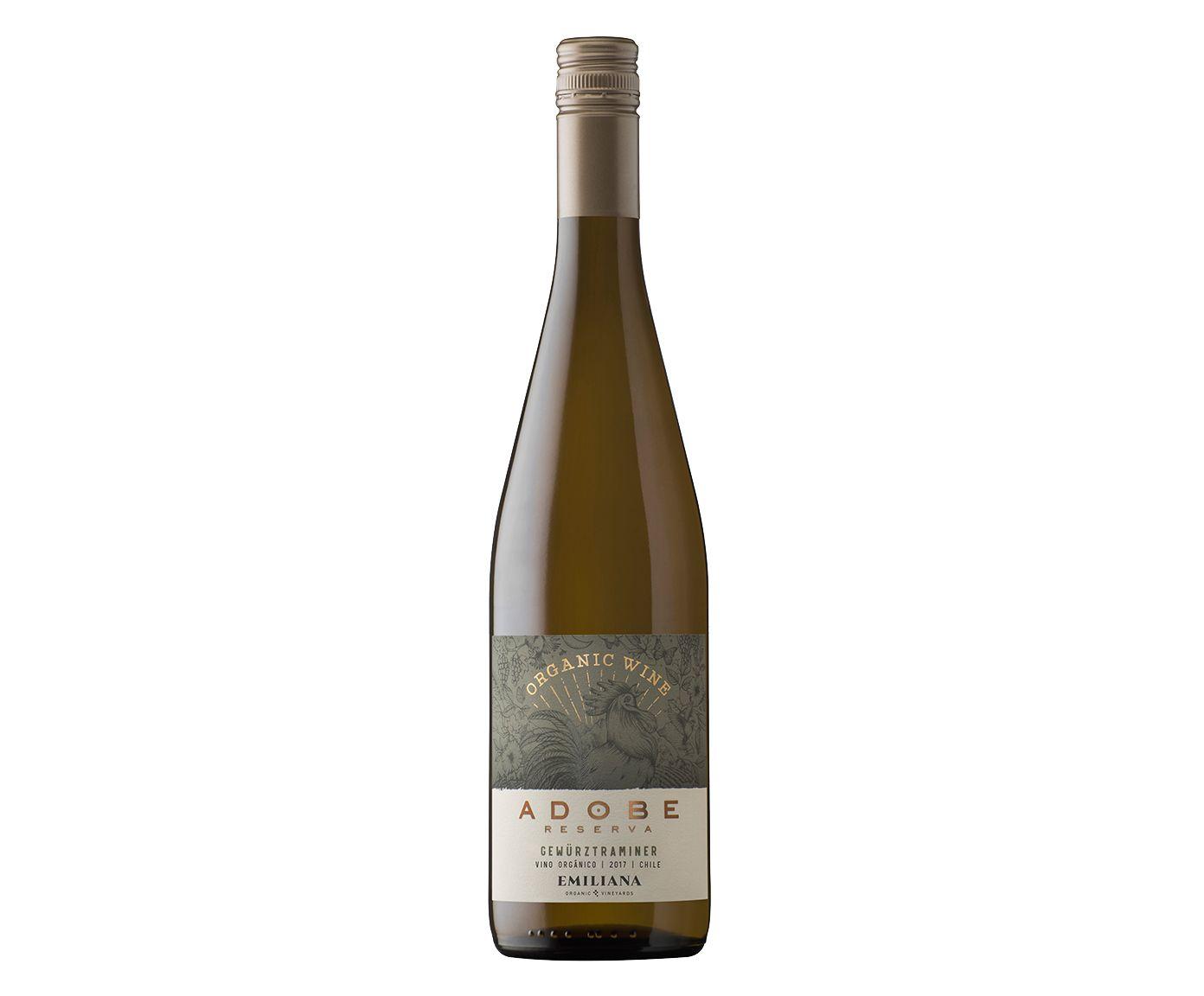 Vinho Branco Emiliana Adobe Gewürztraminer - 750ml | Westwing.com.br