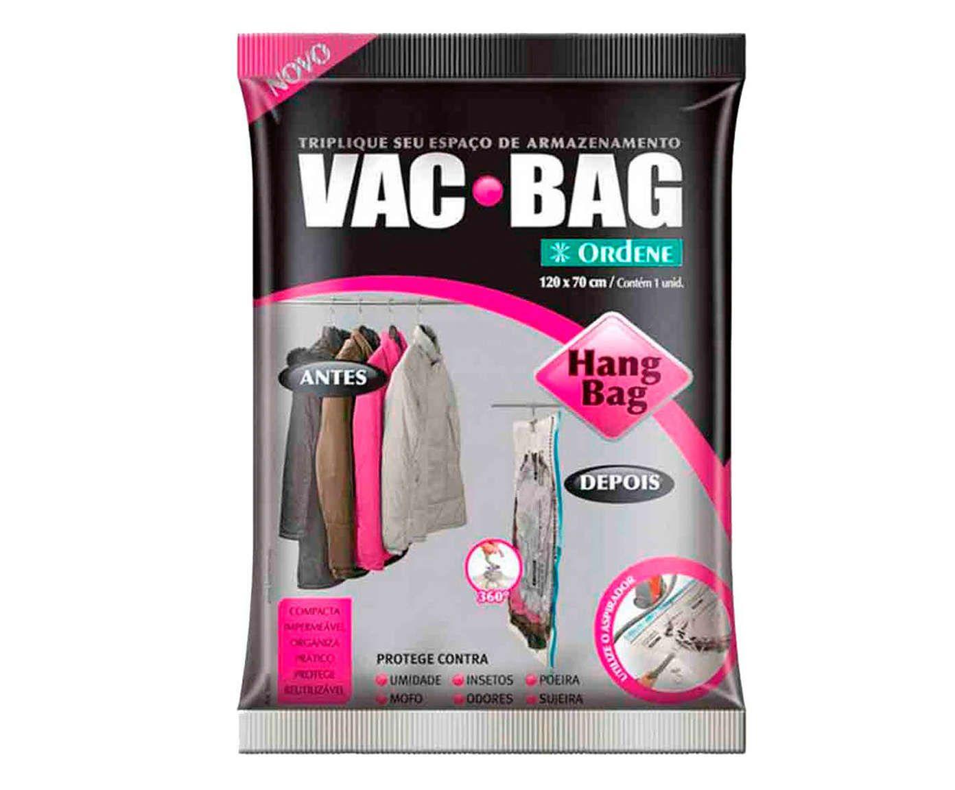 Saco Organizador A Vácuo Hang Bag Fonar - 70X120cm | Westwing.com.br
