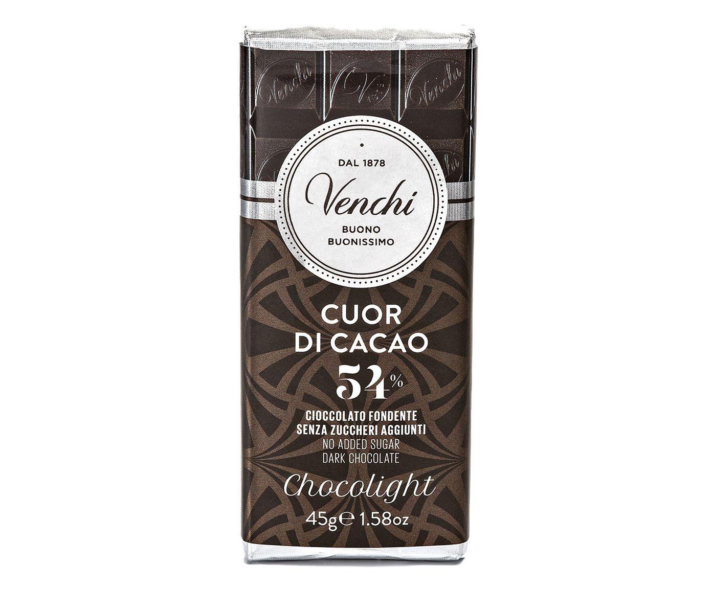 Mini Barra de Chocolate com 54% de Cacau sem Açúcar - 45G | Westwing.com.br