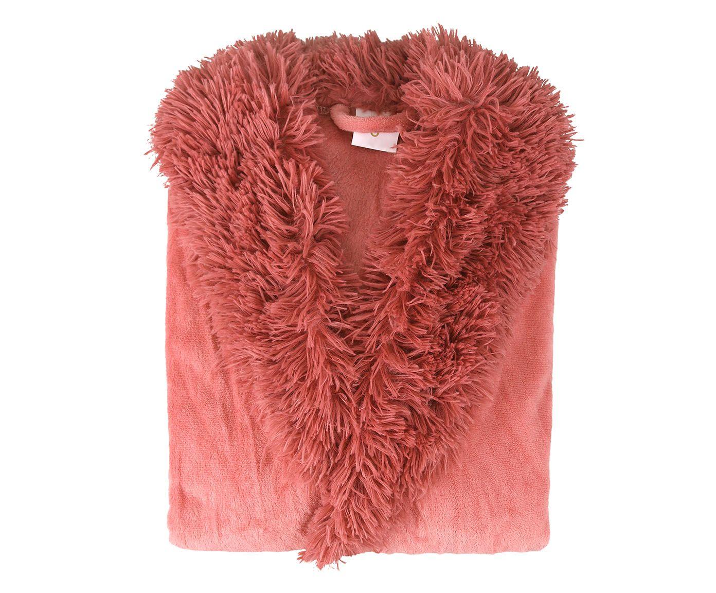 Roupão Blush Rosa Coral, G | Westwing.com.br