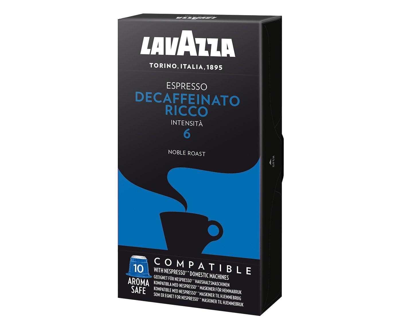 Kit Cápsulas de Café Italiano Lavazza Ncc Espresso Decaffeinato Ricco   Westwing.com.br