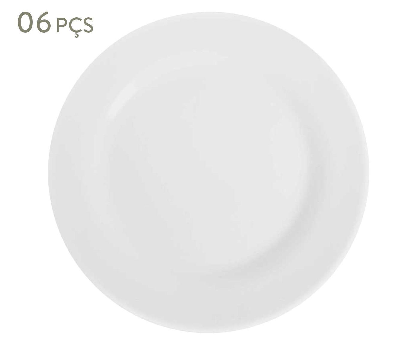 Conjunto de pratos rasos brief 24 cm - duralex | Westwing.com.br